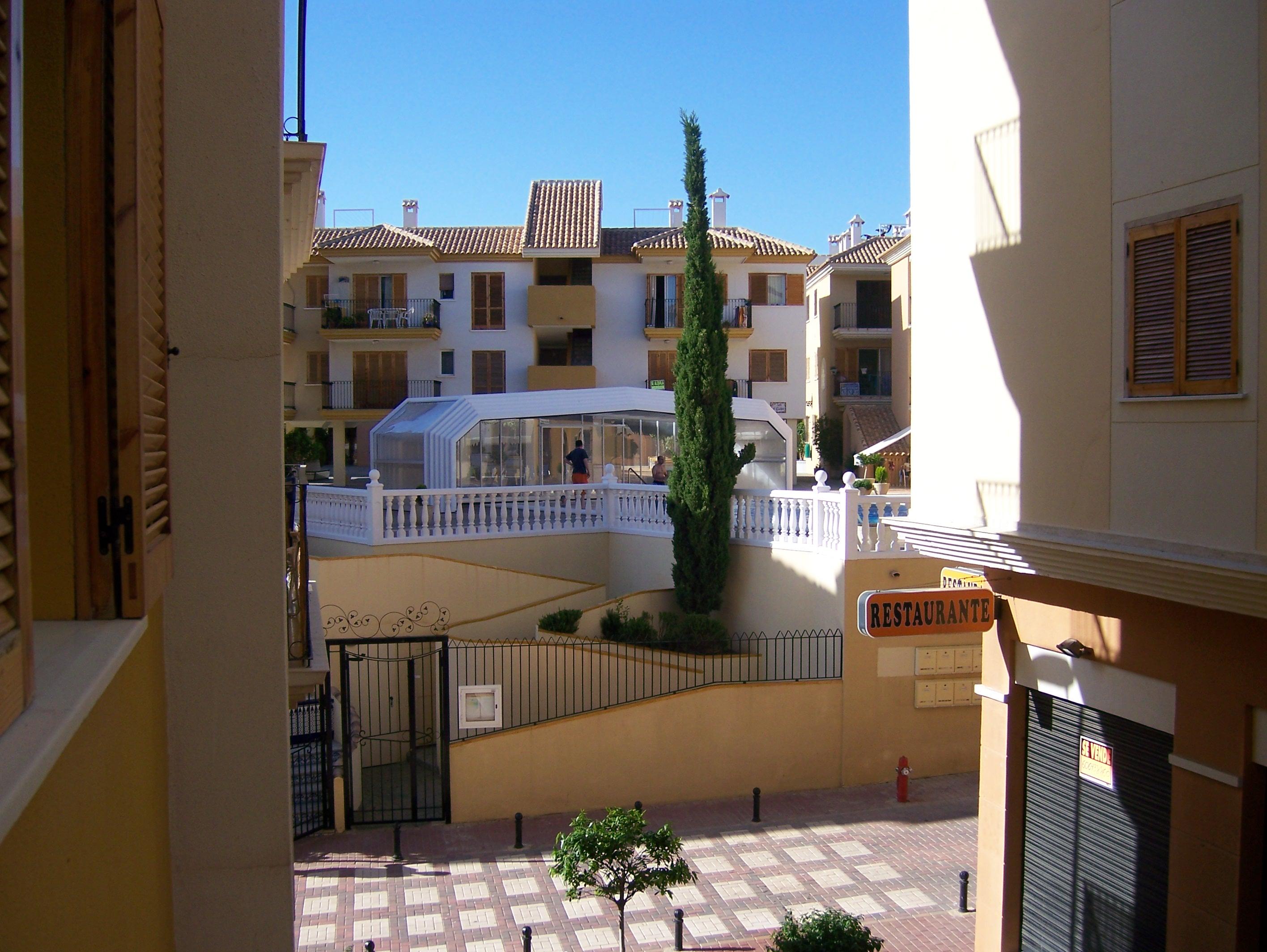 Foto playa El Castell. Apartamentos en Puerto de Mazarrón.
