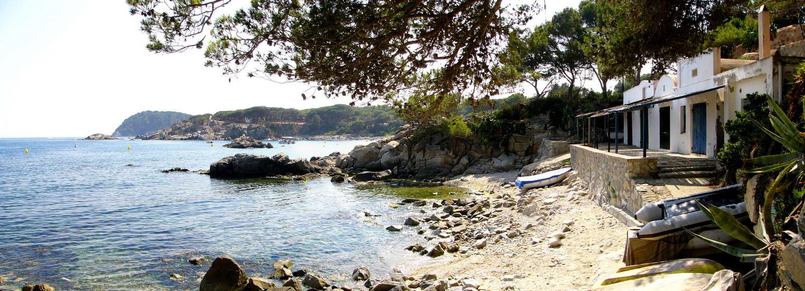 Foto playa Sant Esteve de la Fosca. S´Alguer