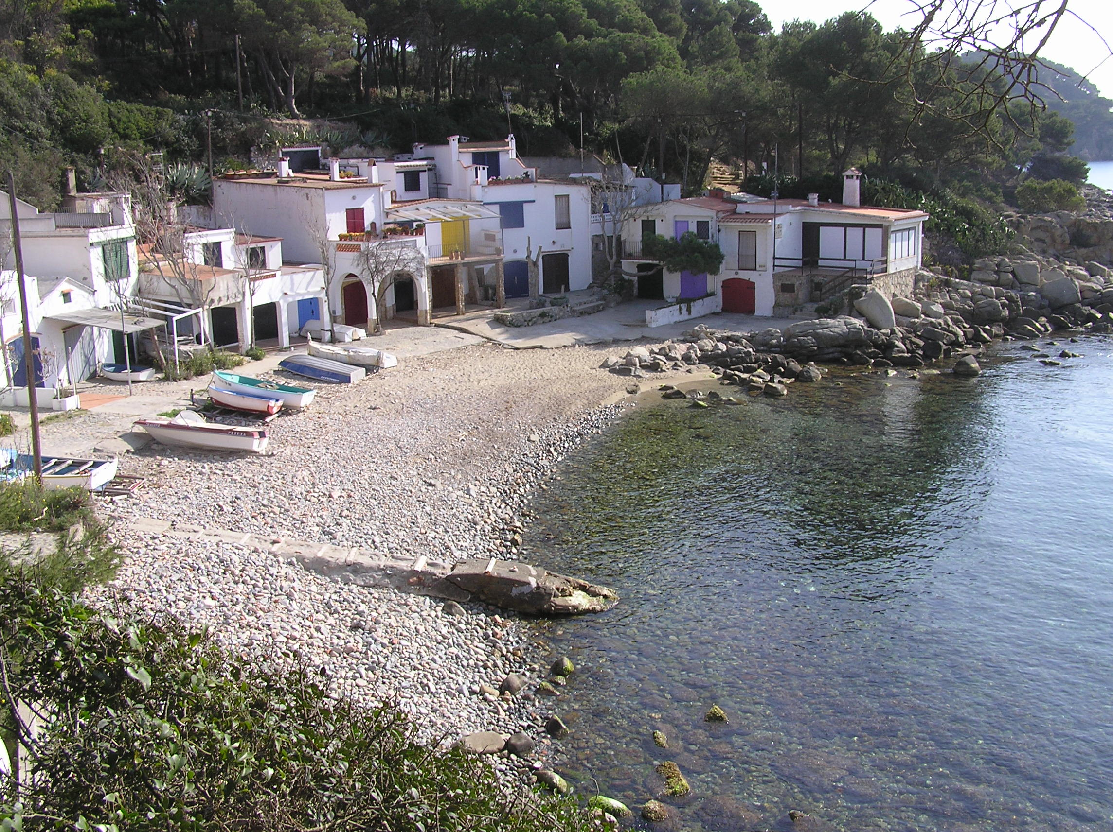 Foto playa Sant Esteve de la Fosca. cala s´Alguer - Palamós