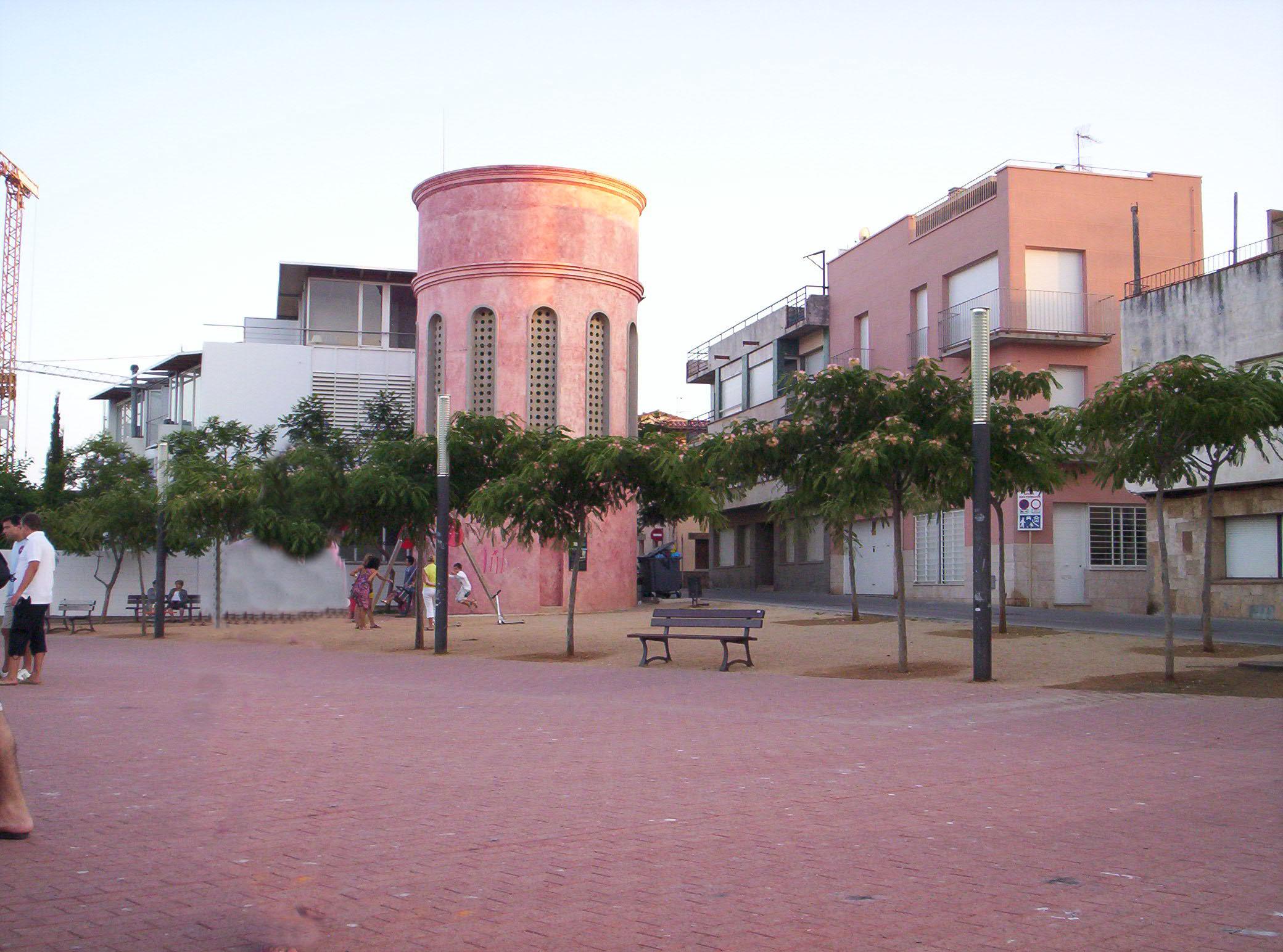 Foto playa Cala Margarida. Różowy okrąglak