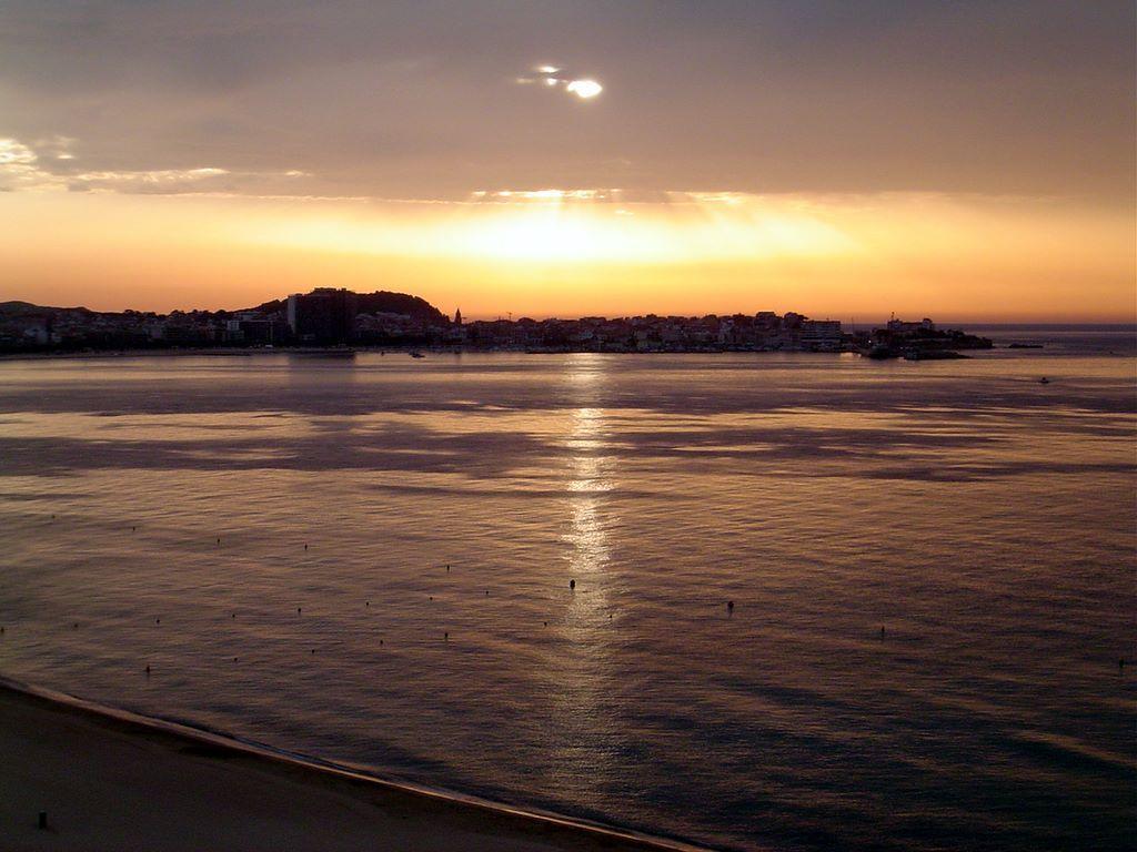 Foto playa Gran de Palamós. ESPAÃ'A Costa Brava Palamos