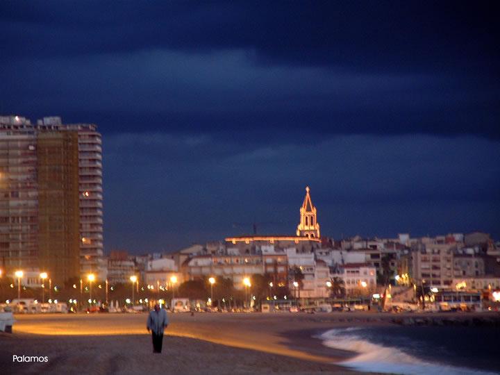 Foto playa Racó dels Hornes. Palamòs