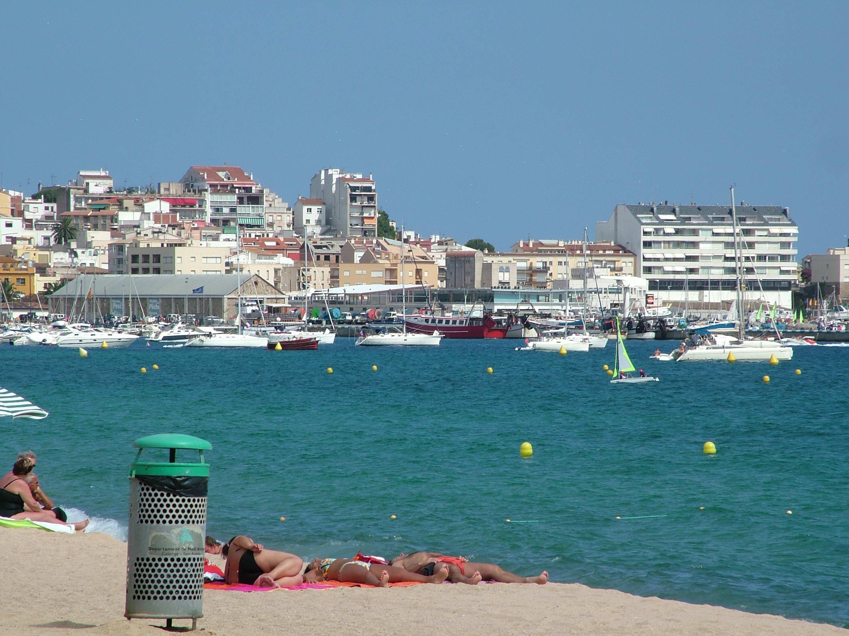 Foto playa Racó dels Hornes. Palamos