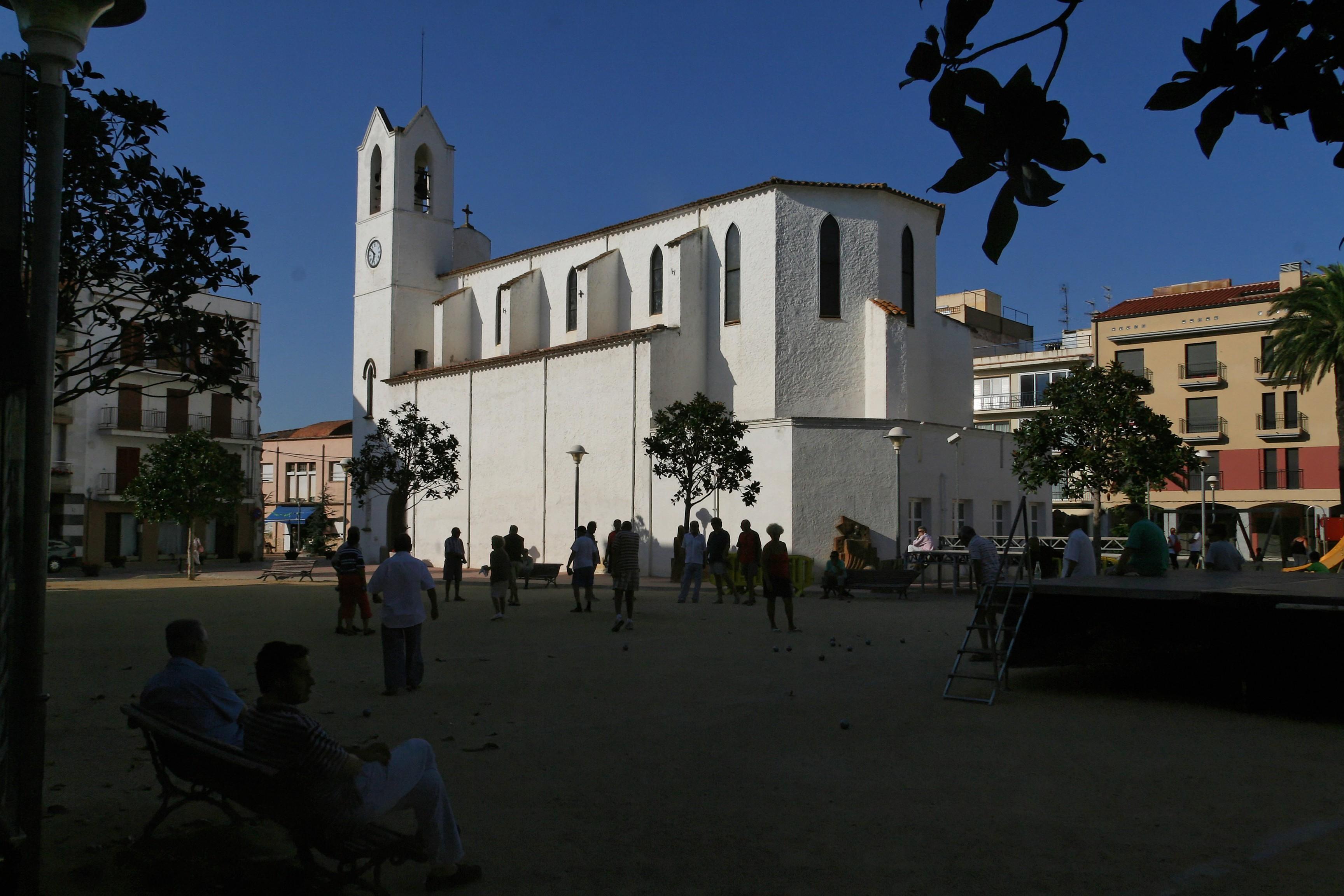 Foto playa Cala dels Esculles. Sant Antoni - Eglise