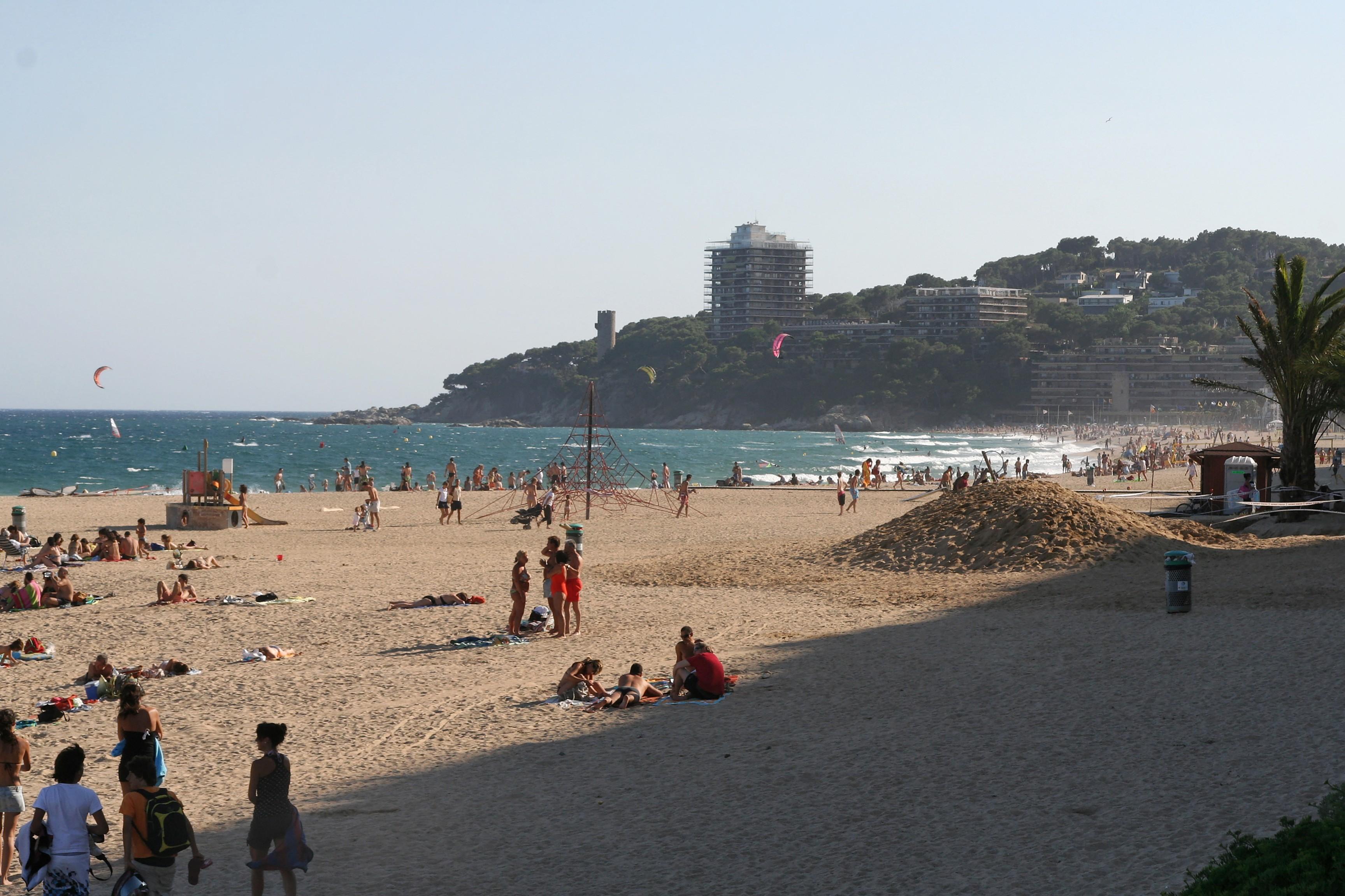 Foto playa Cala dels Esculles. Sant Antoni - Vue Torre Valentina