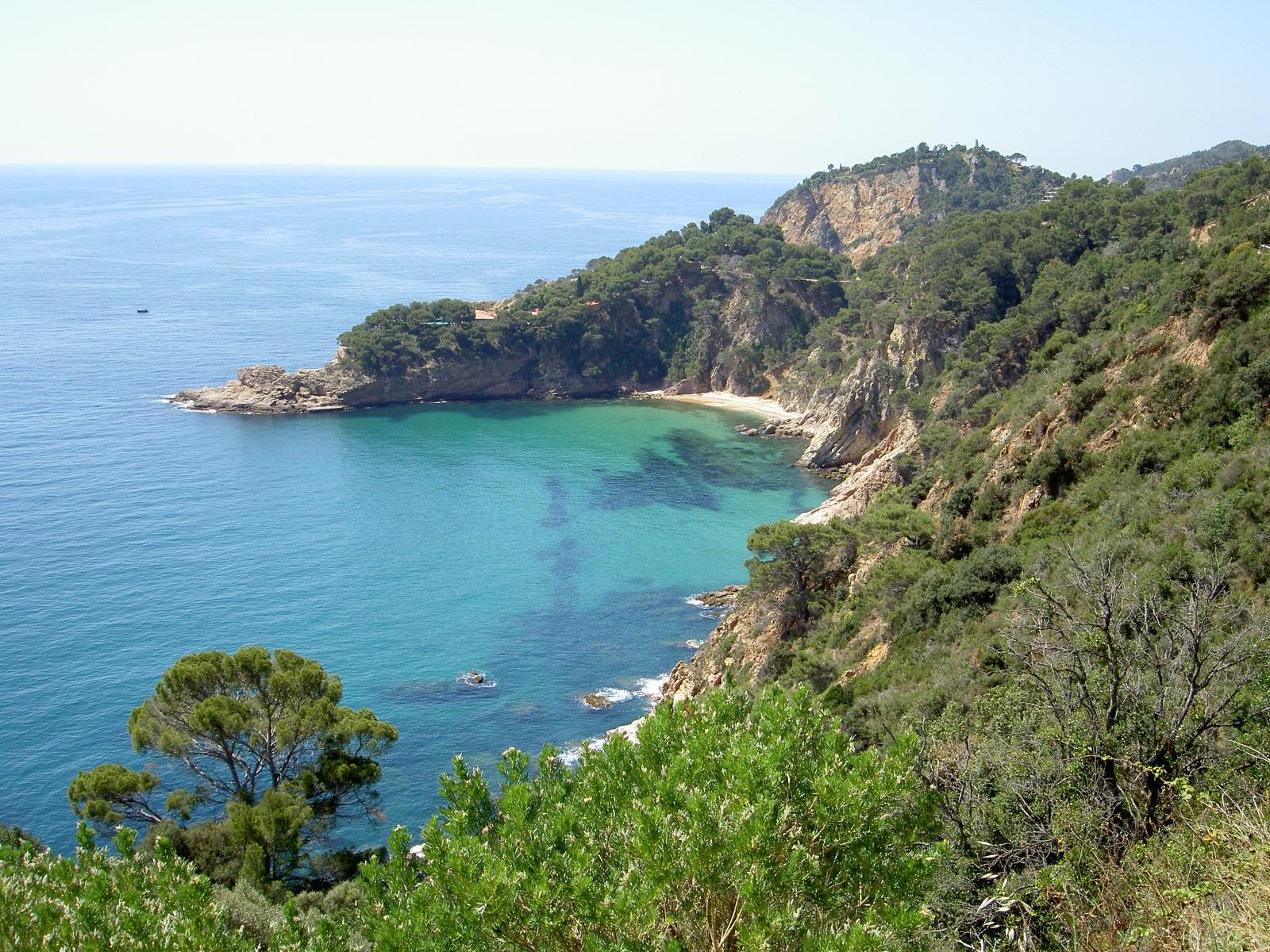 Foto playa Cala Salions. Cala Giverola; Bikeholiday