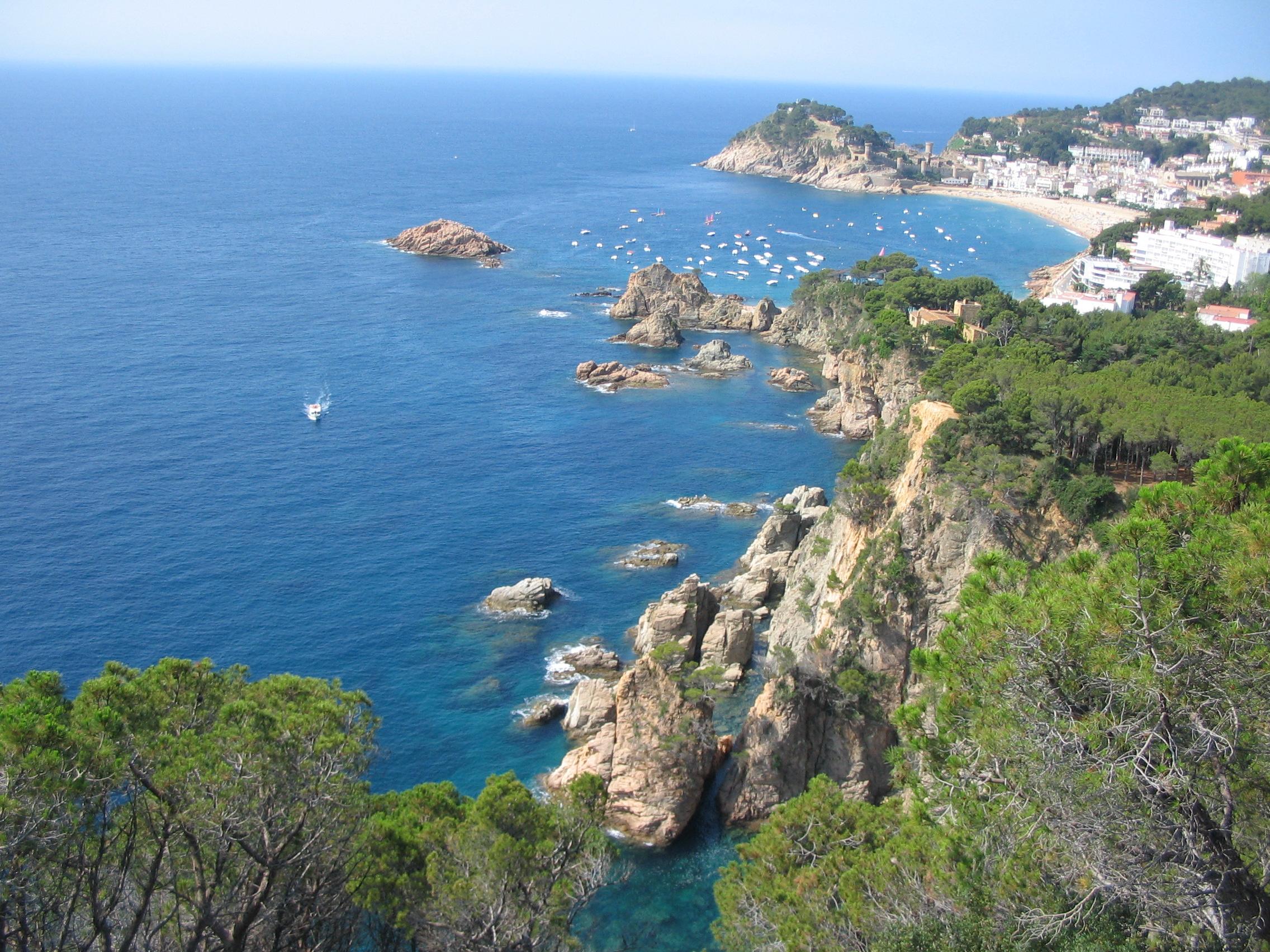 Foto playa Cala Bona. Gerona - Tossa de Mar