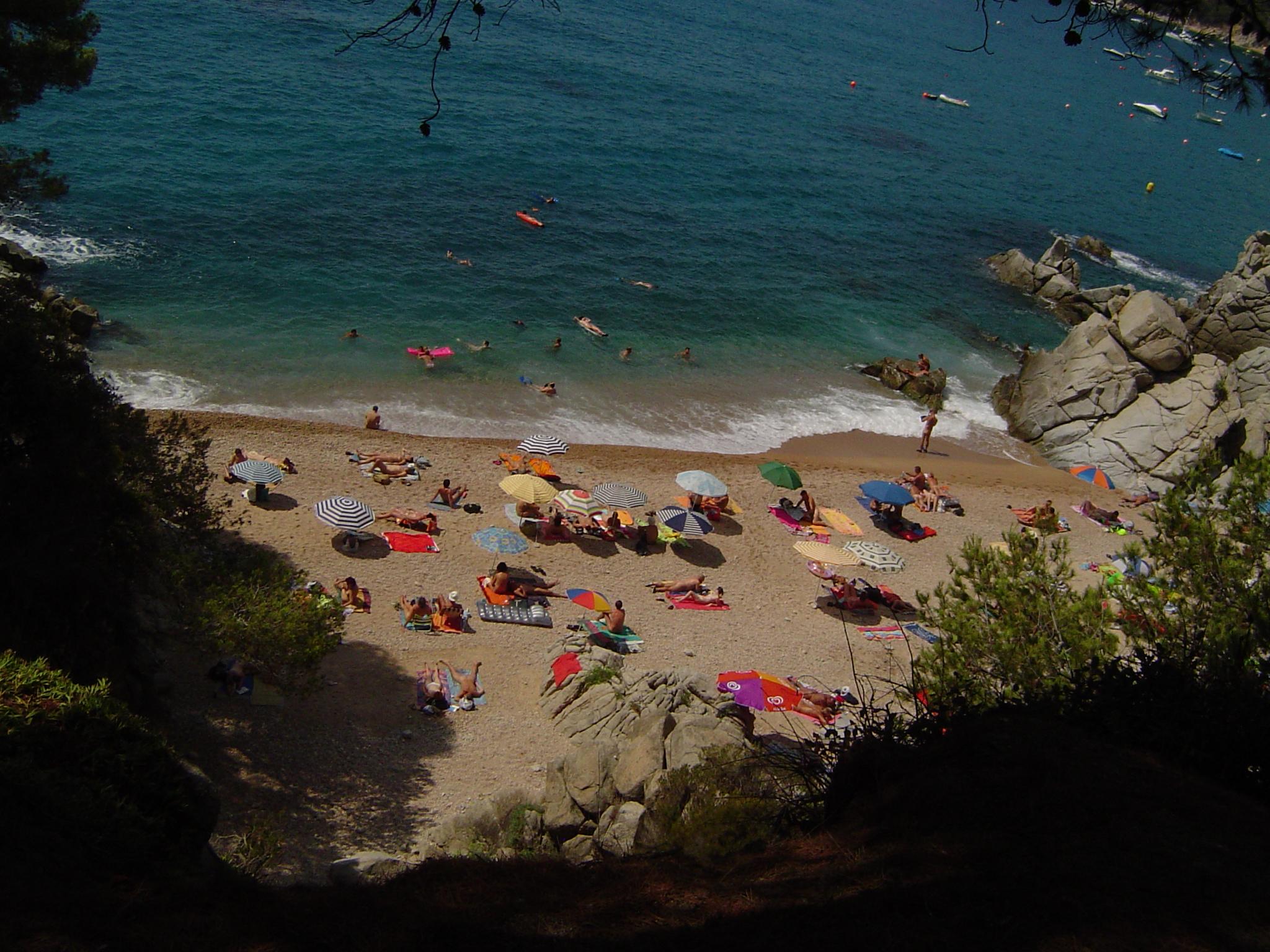 Foto playa Cala Llevadó / La Llosa des Llevador. Cala Figuera, Camping Cala Llevado