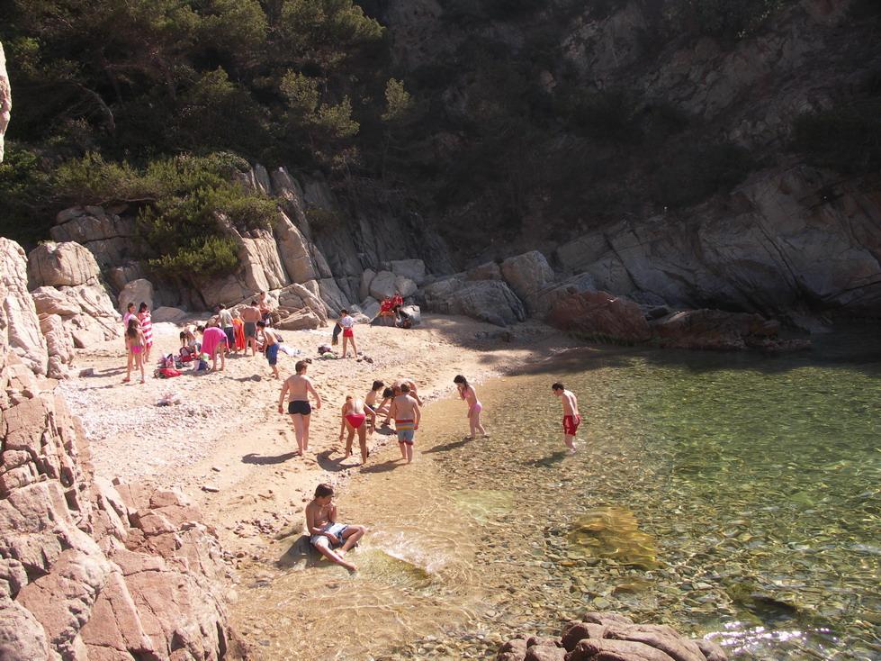 Foto playa Cala Llevadó / La Llosa des Llevador. Cala Llevadó. Costa Brava