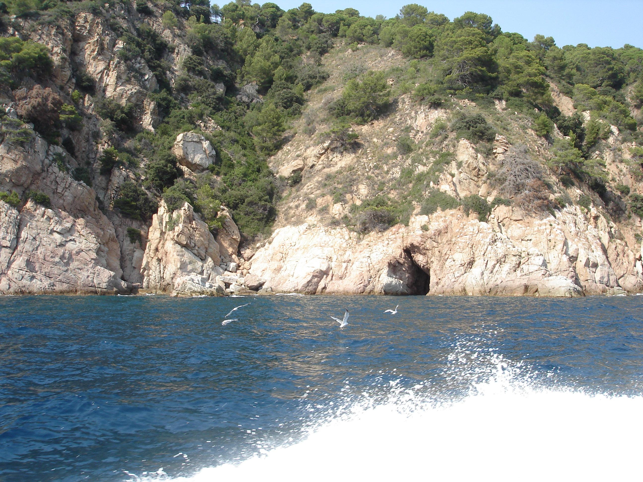 Foto playa Cala Morisca. Вид с моря
