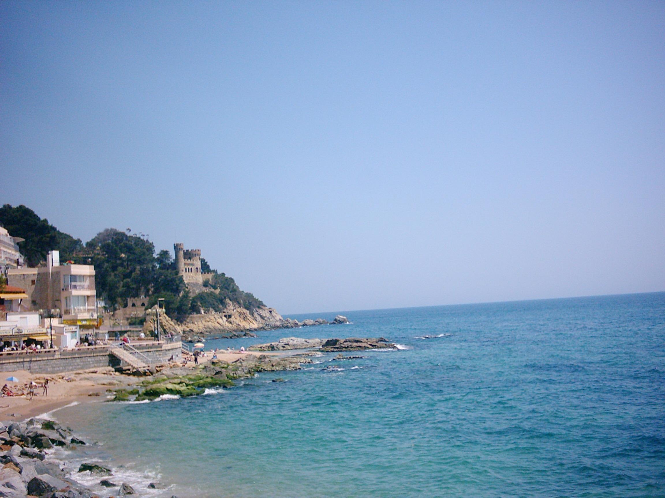 Foto playa Sa Caleta. LLoret de mar