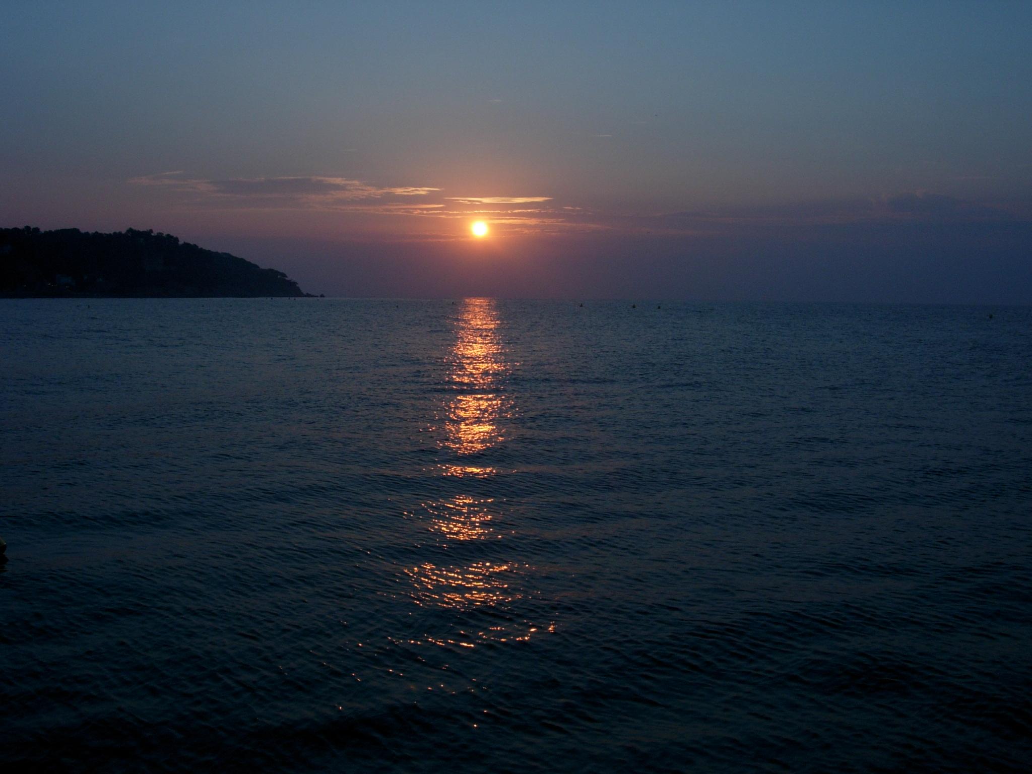 Foto playa Platja de Lloret. Amanecer, Lloret de mar