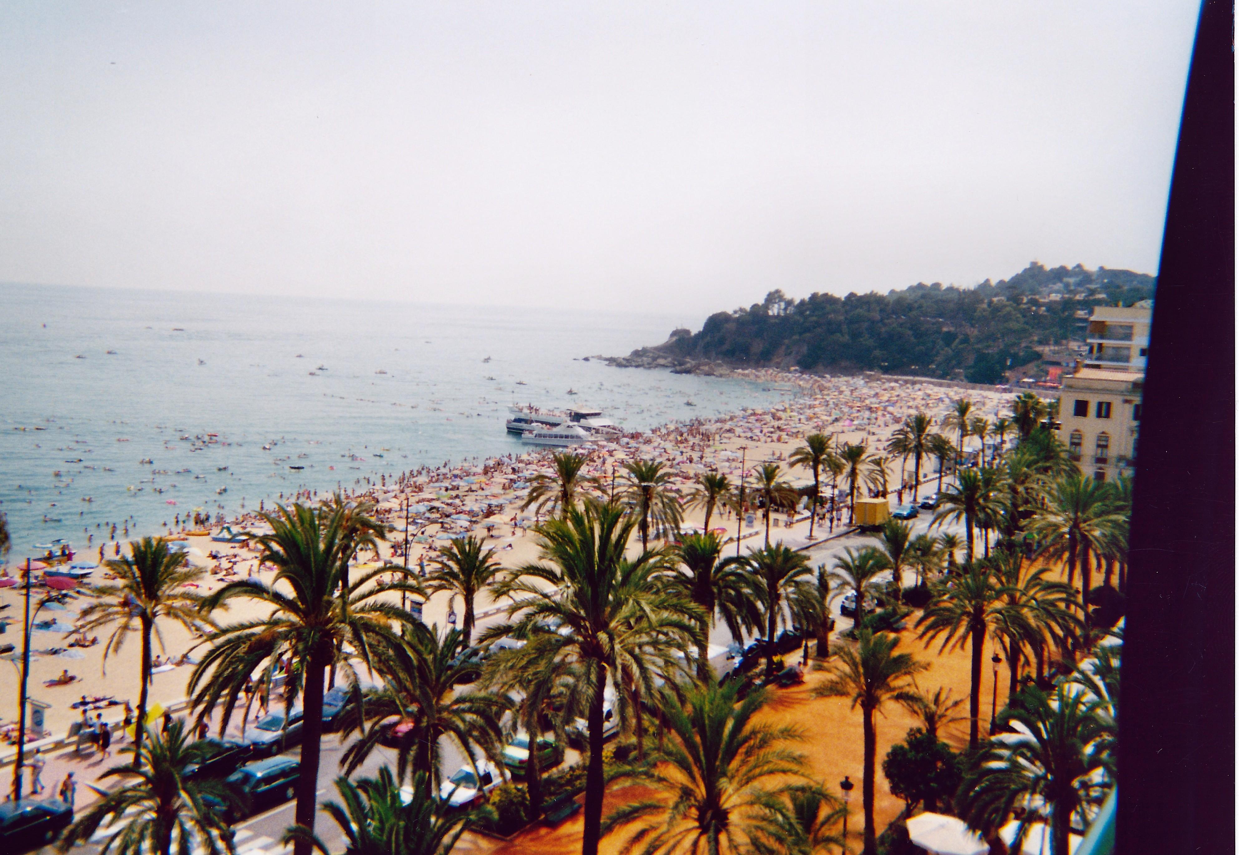 Foto playa Cala Banys. Lloret de Mar