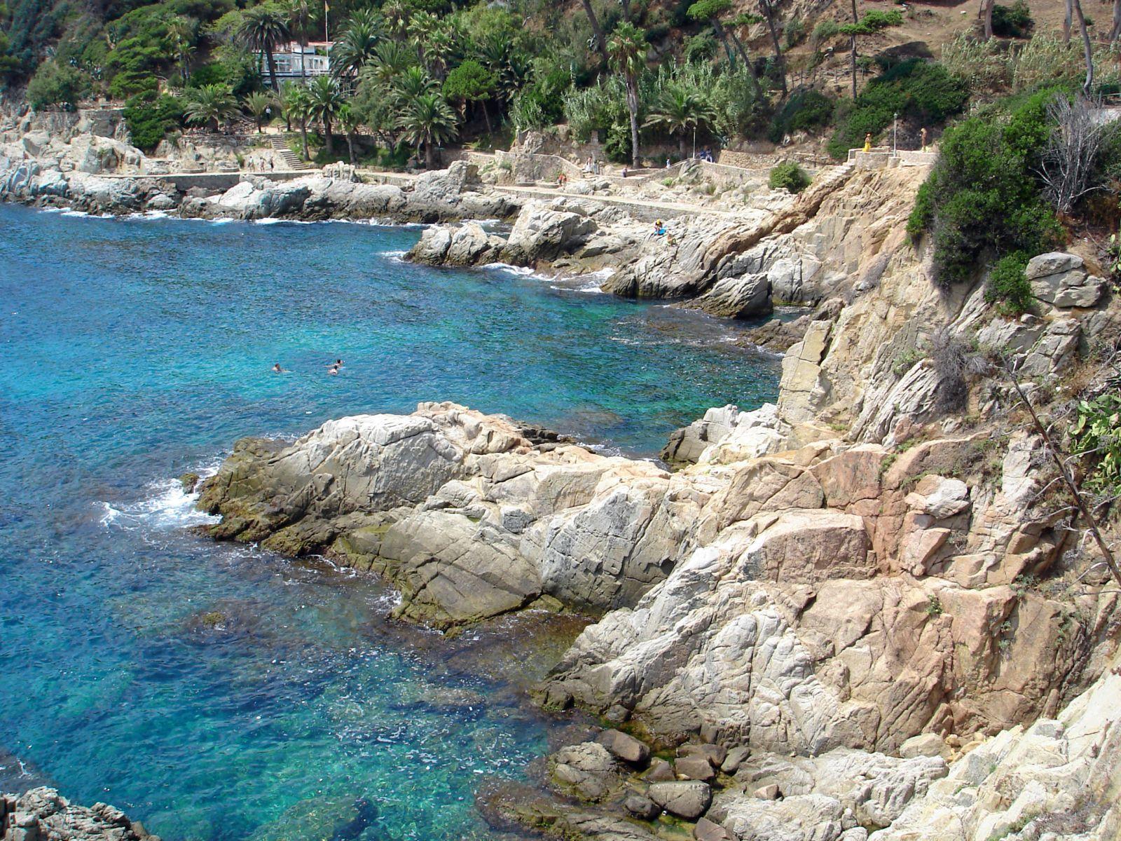 Foto playa Cala Banys. Lloret del Mar