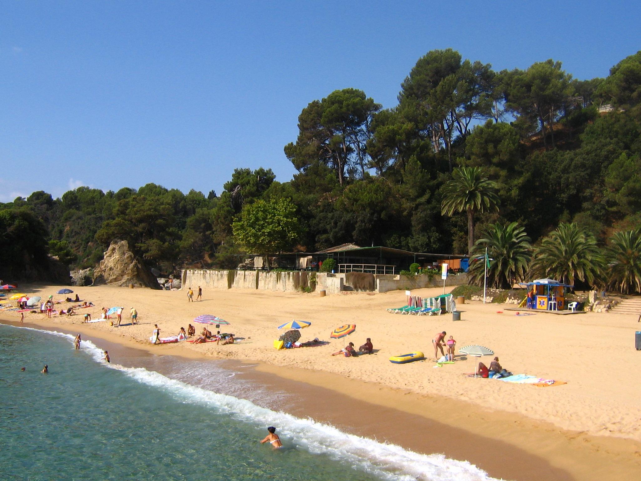 Foto playa Cala d'en Trons. Costa Brava