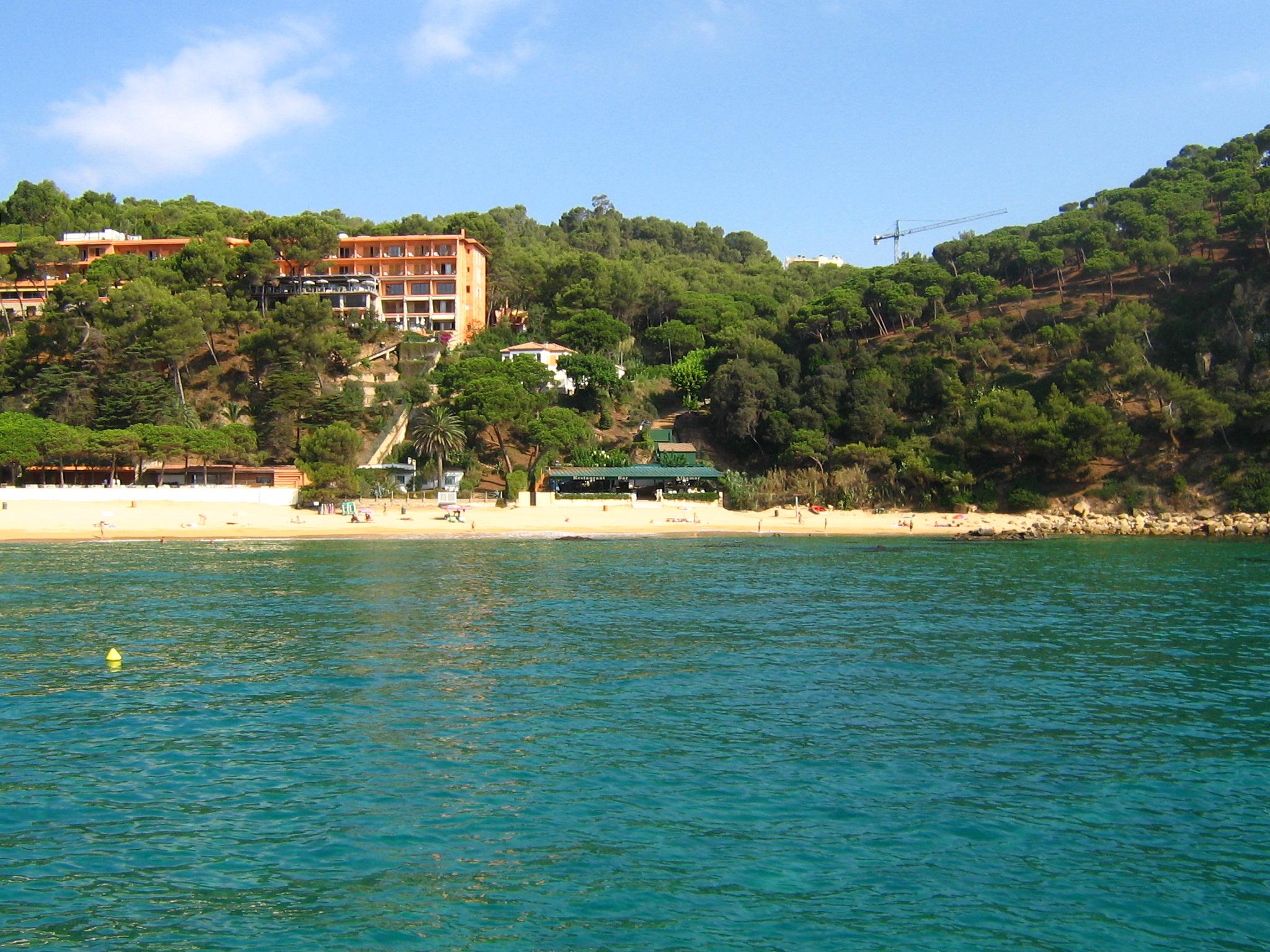 Foto playa Cala d'en Trons.