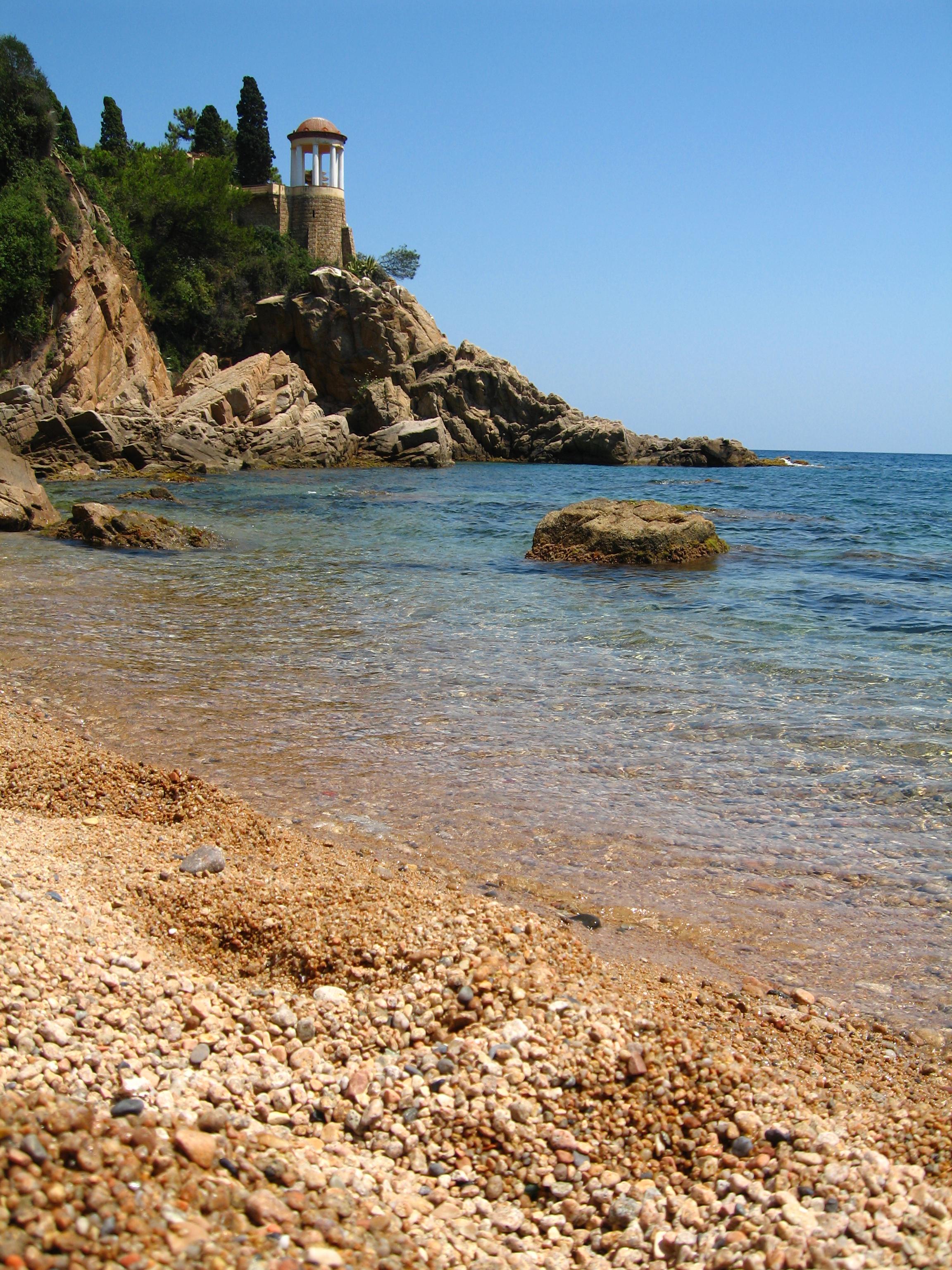 Foto playa Cala de Sant Francesc / Cala Bona. forcanera