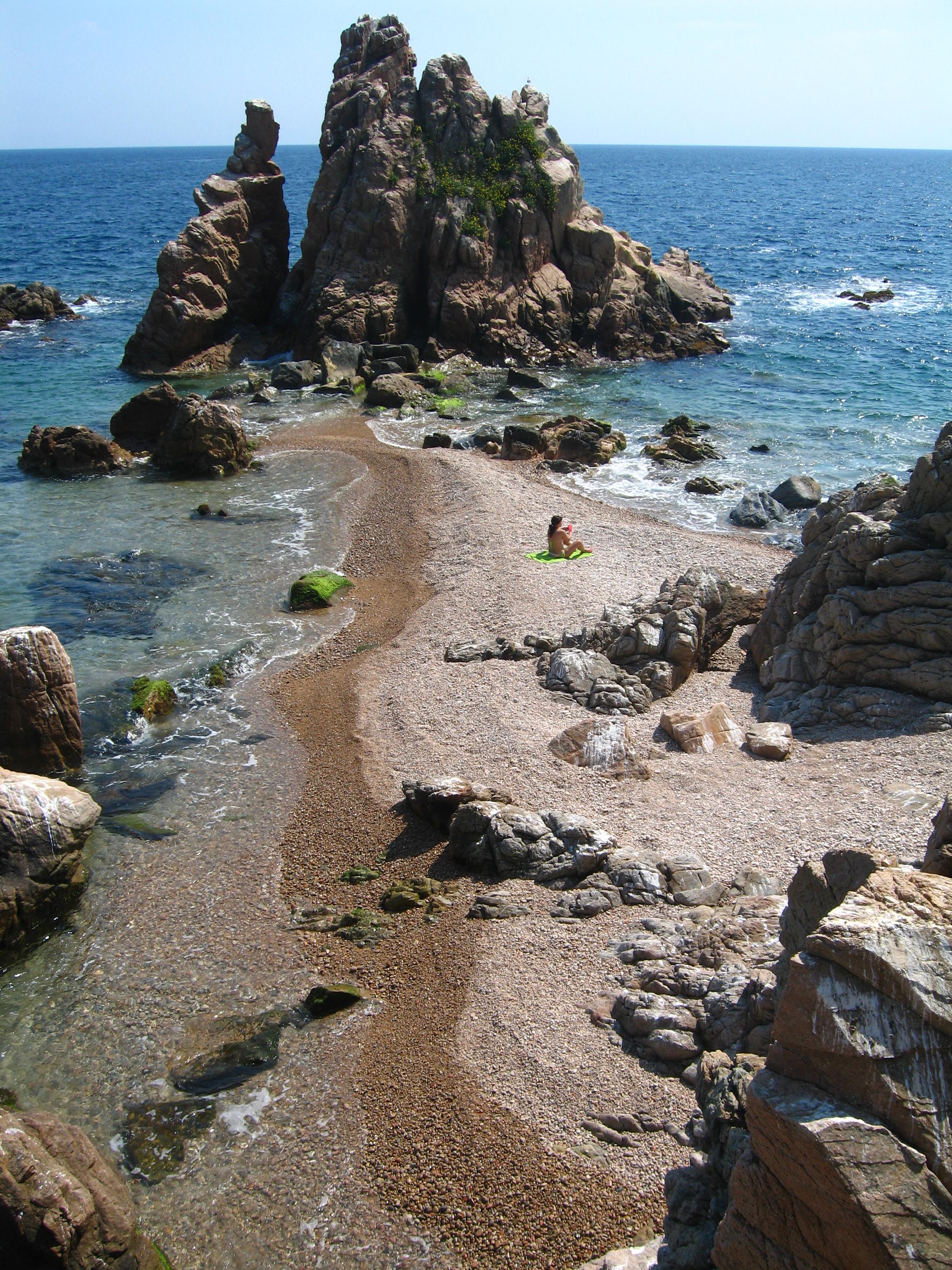 Foto playa Els Capellans / Freu / Punta Santa Ana. Punta de Sta. Anna