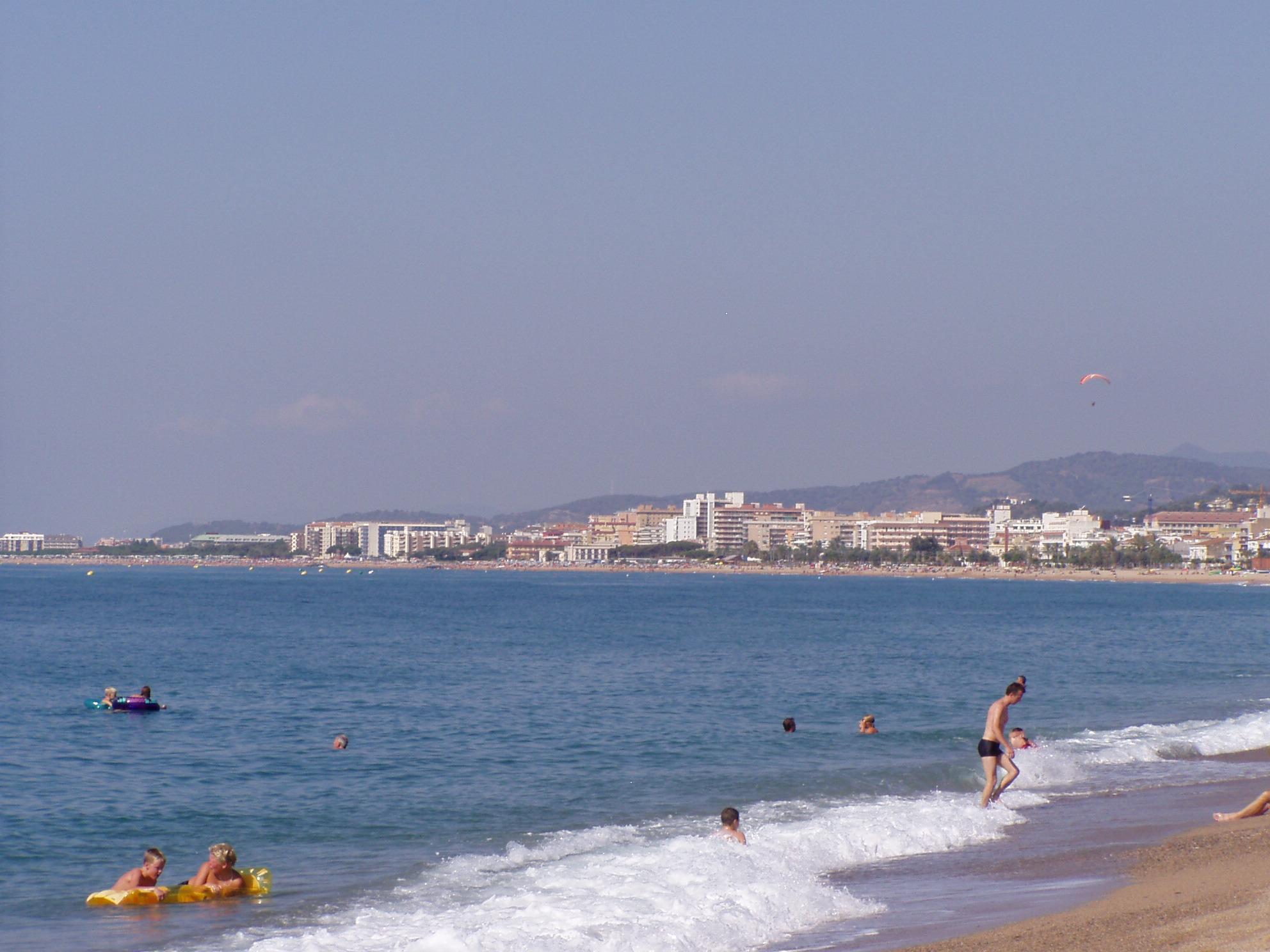Foto playa Malgrat de la Conca. Batch Look SWW