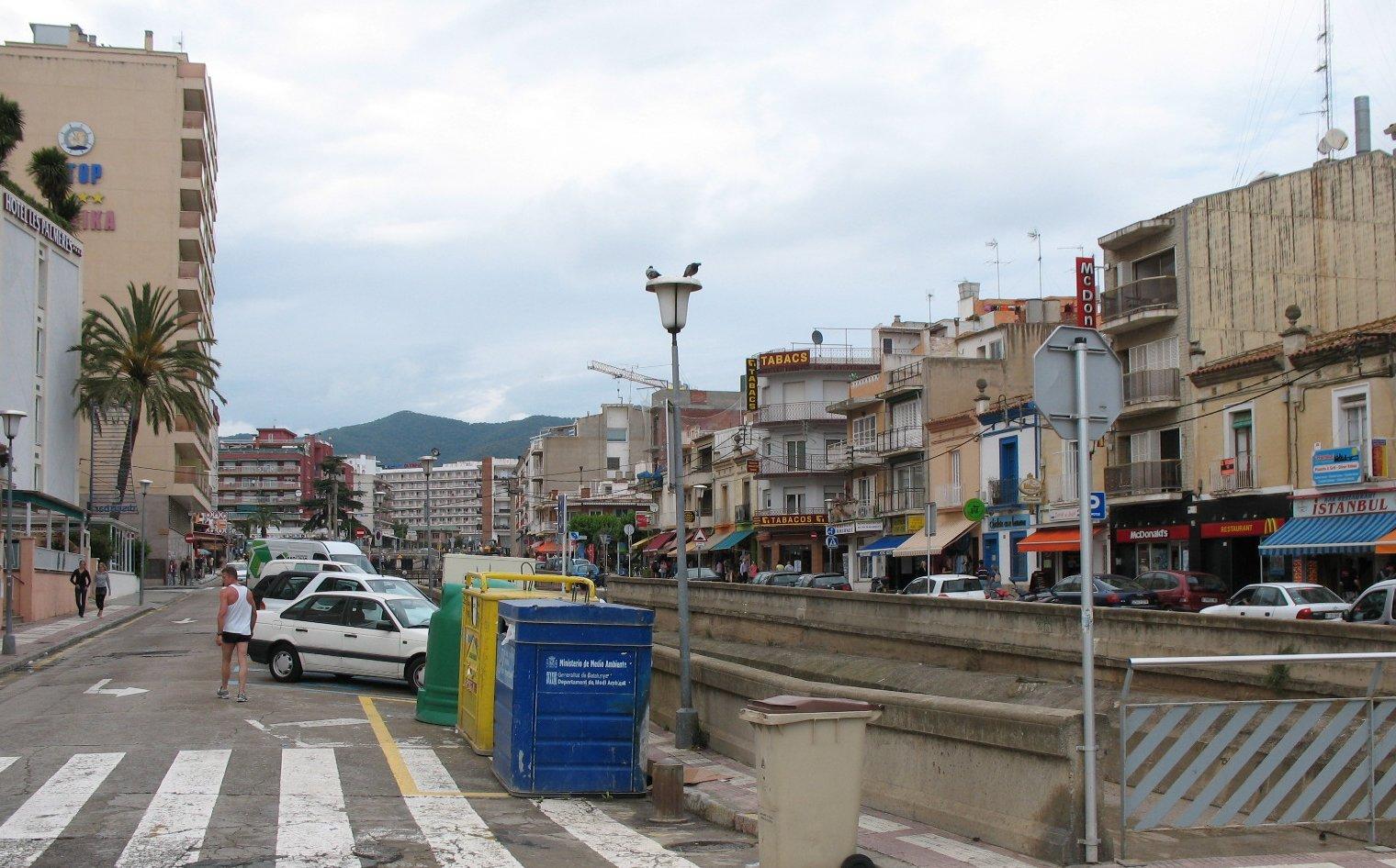 Foto playa Les Roques. Calella, Costa Brava