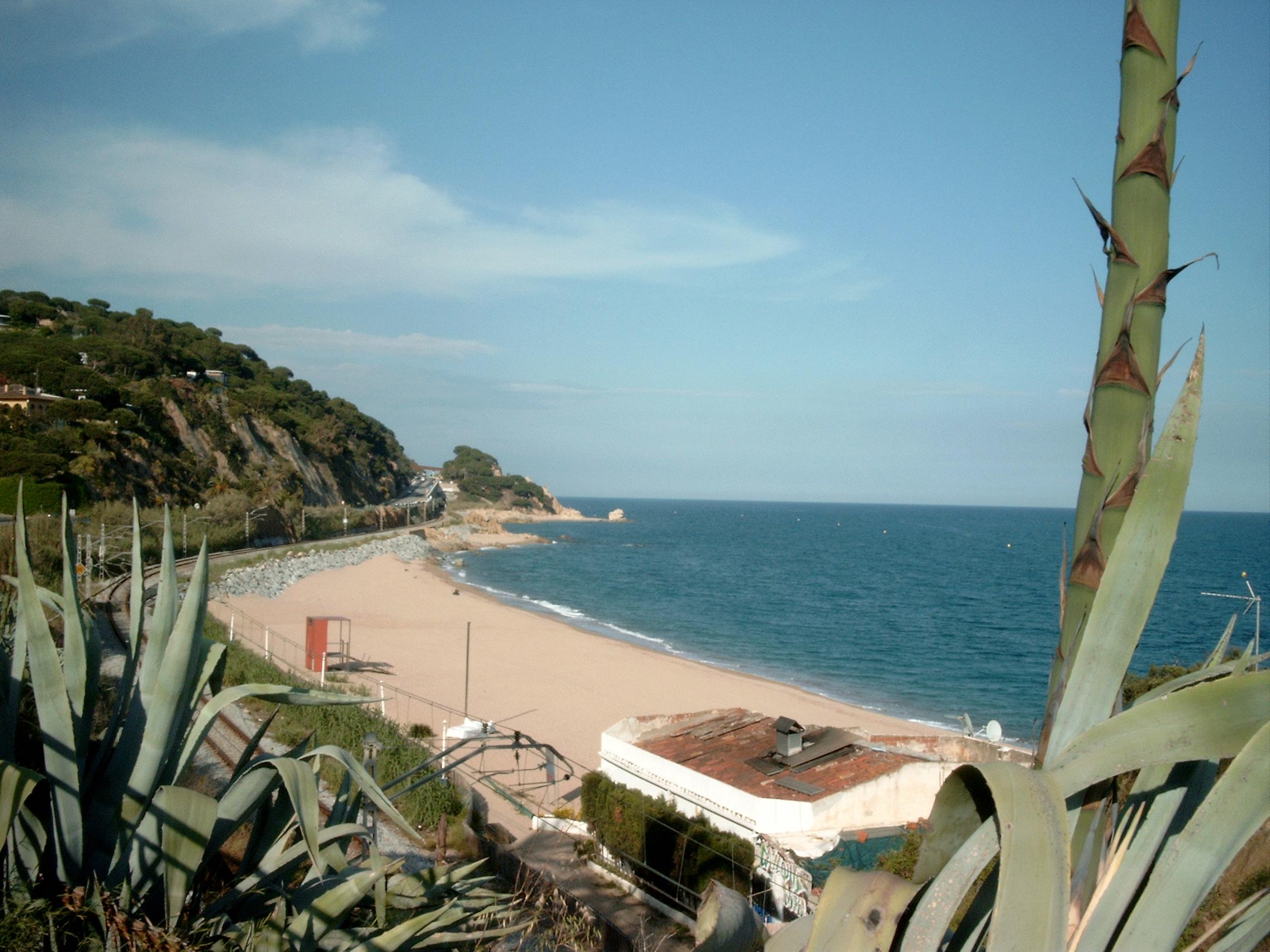 Foto playa Can Villar / Playa de la Riera. Costa del Maresme