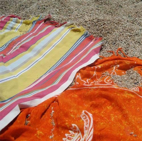 Foto playa La Murtra. pareos