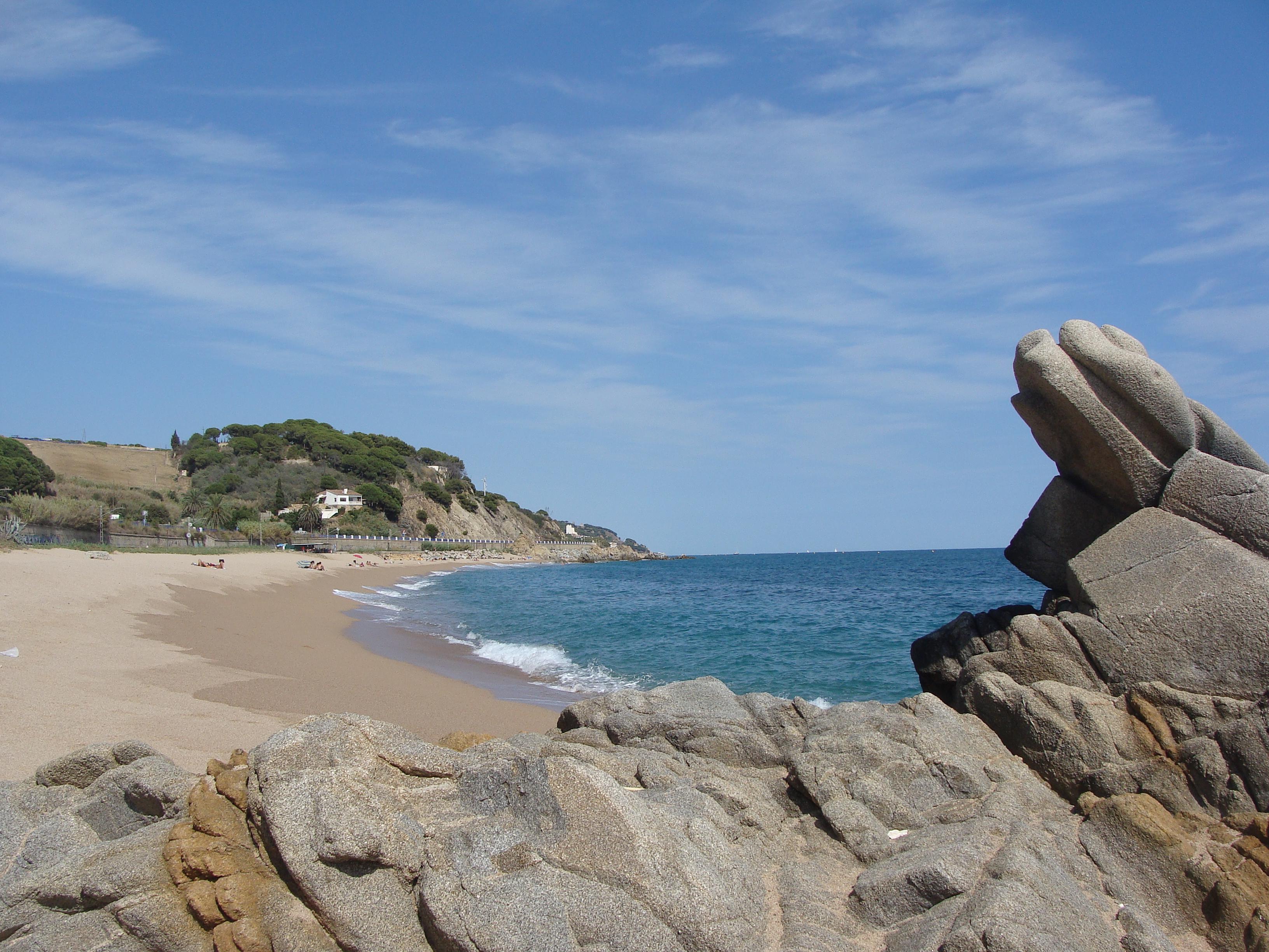 Foto playa Roques Blanques. Canet De Mar-By Ynyntyo