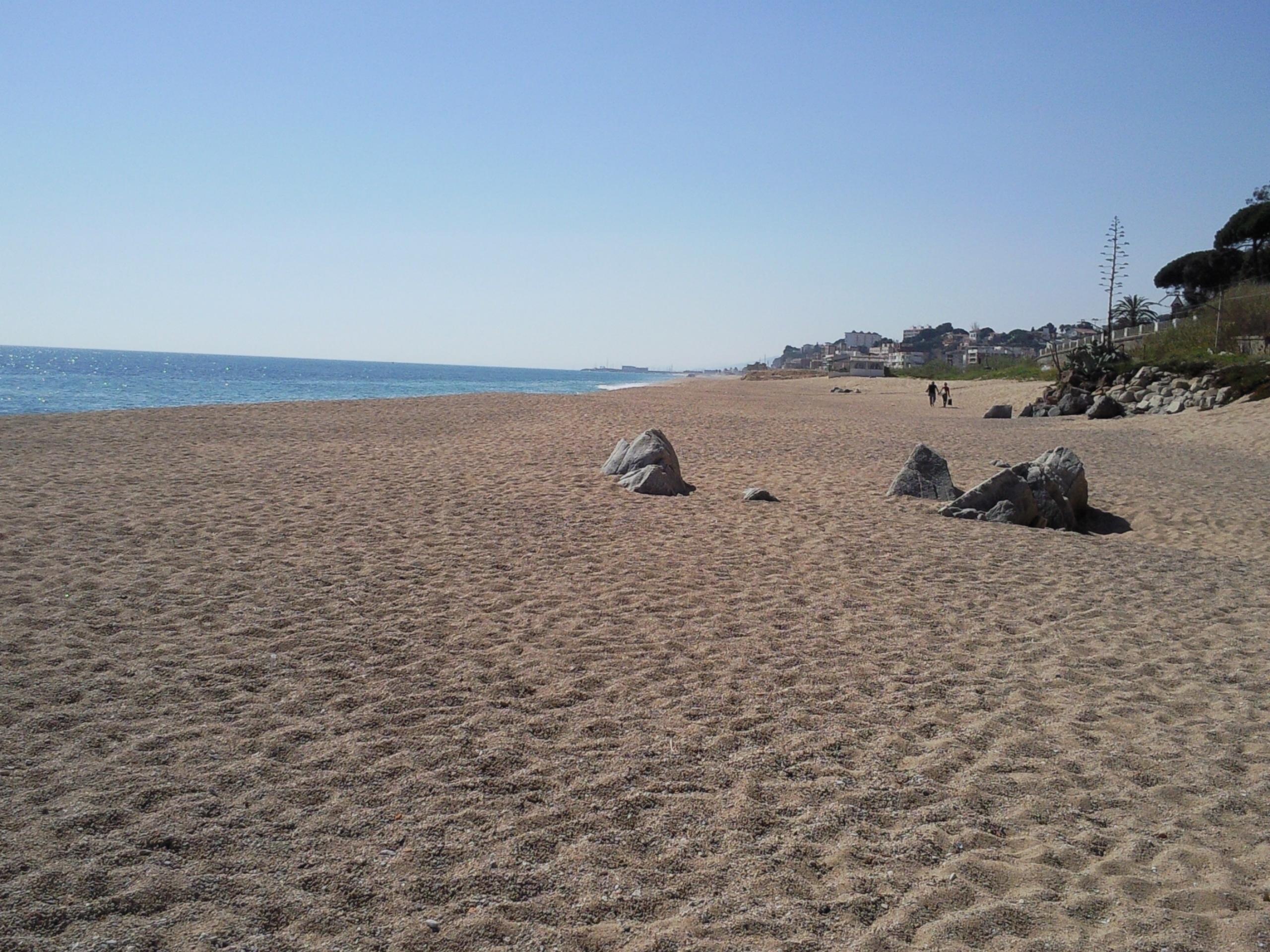 Foto playa Roques Blanques. Rocas Blancas , Zona Nudista