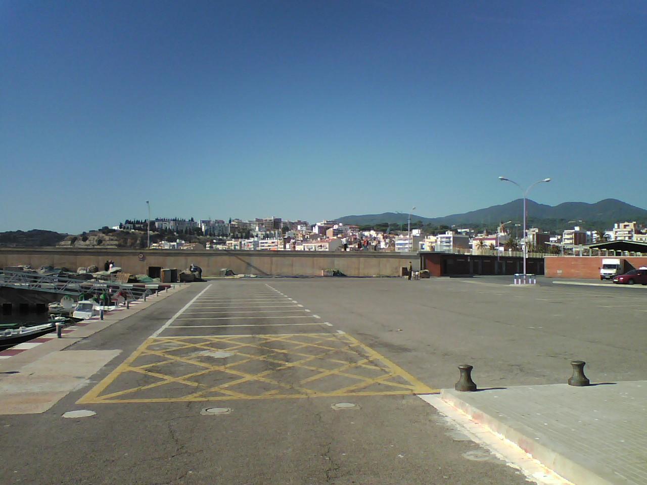 Foto playa Zona banys Fòrum. Arenys de Mar