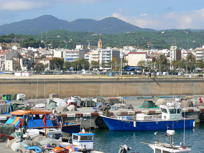 Foto playa Zona banys Fòrum. Arenys, vista general.