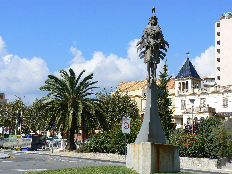 Foto playa Zona banys Fòrum. Puerto, Arenys