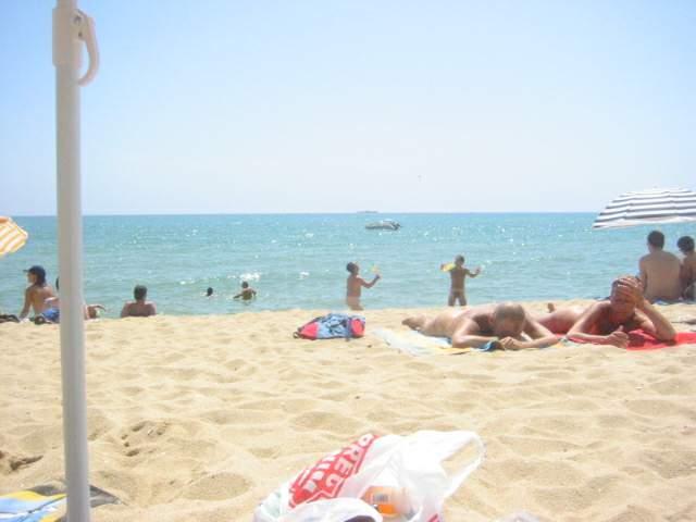 Foto playa La Musclera. La Musclera - naturist beach!