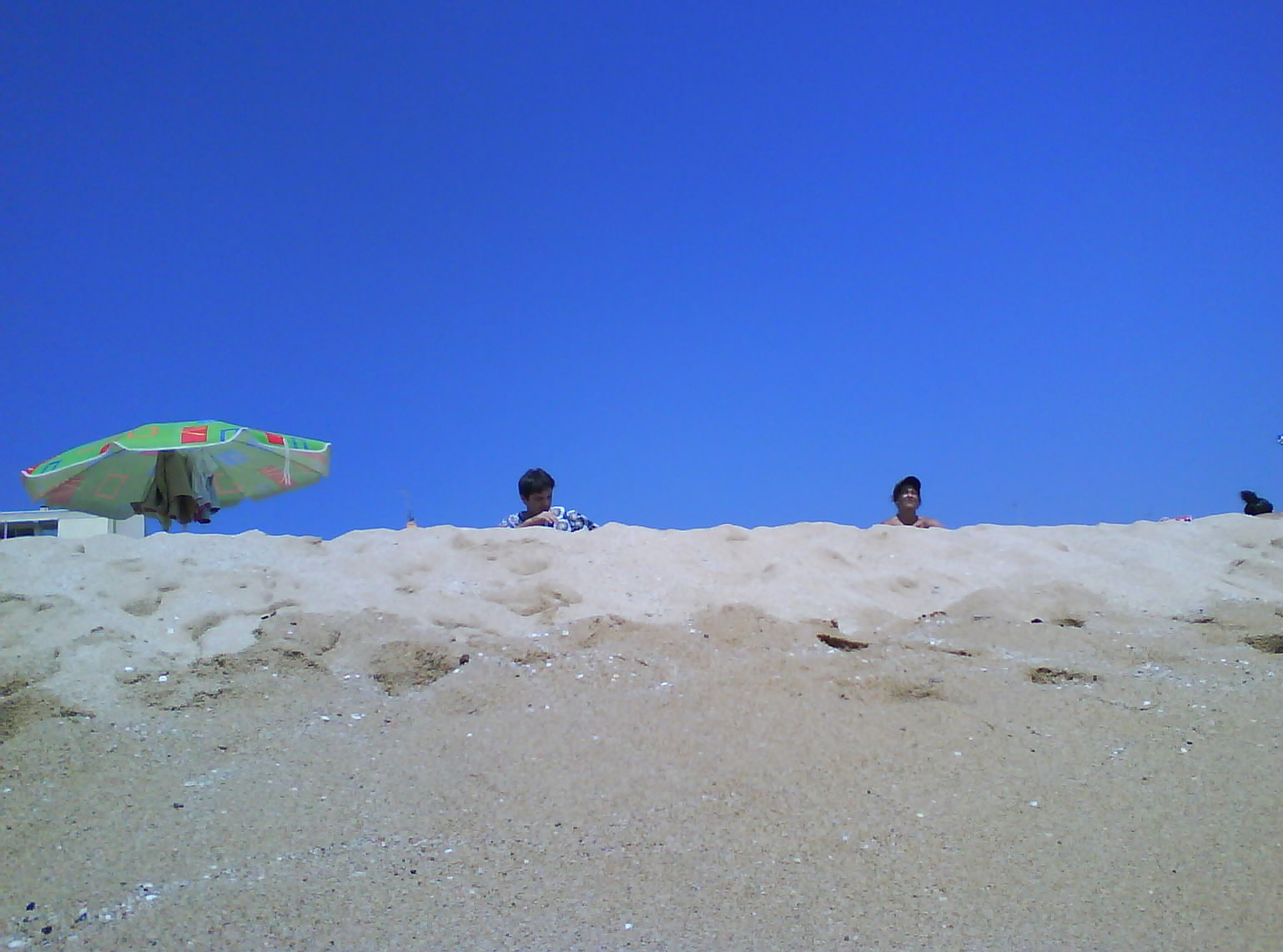 Foto playa El Balís. telita! vaya litoral el del Maresme