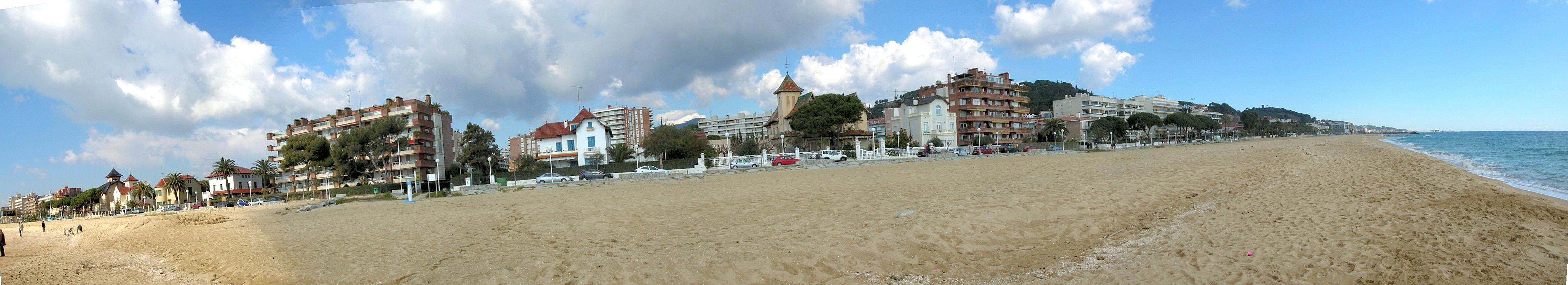 Foto playa El Balís.