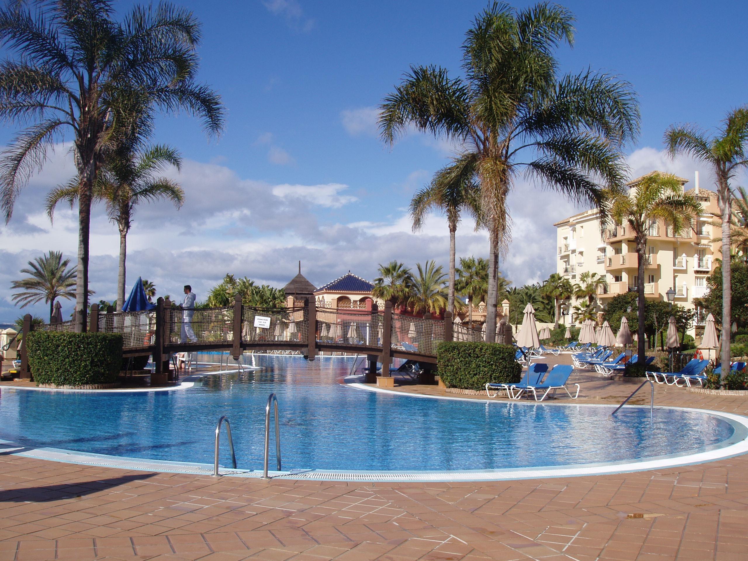 Foto playa El Alicate. Marriot Hotel