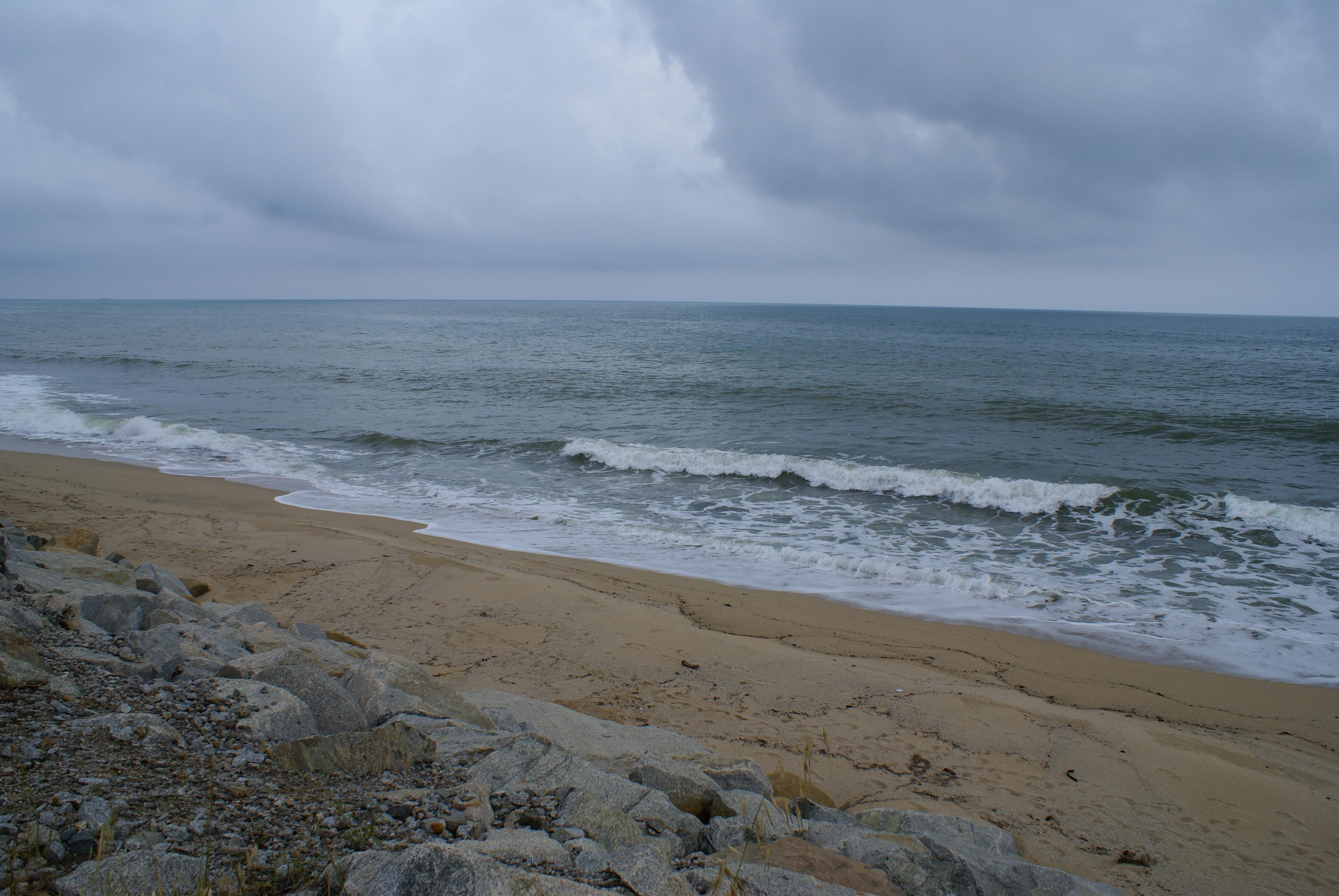 Foto playa Sant Simó. cloudysea