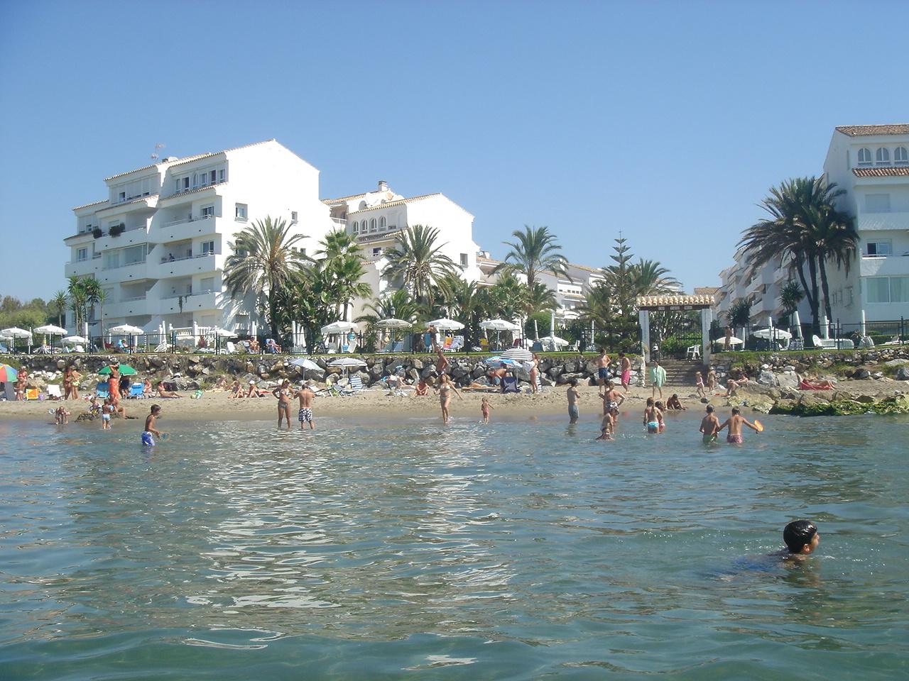 Foto playa El Alicate. Playa Real, Mar