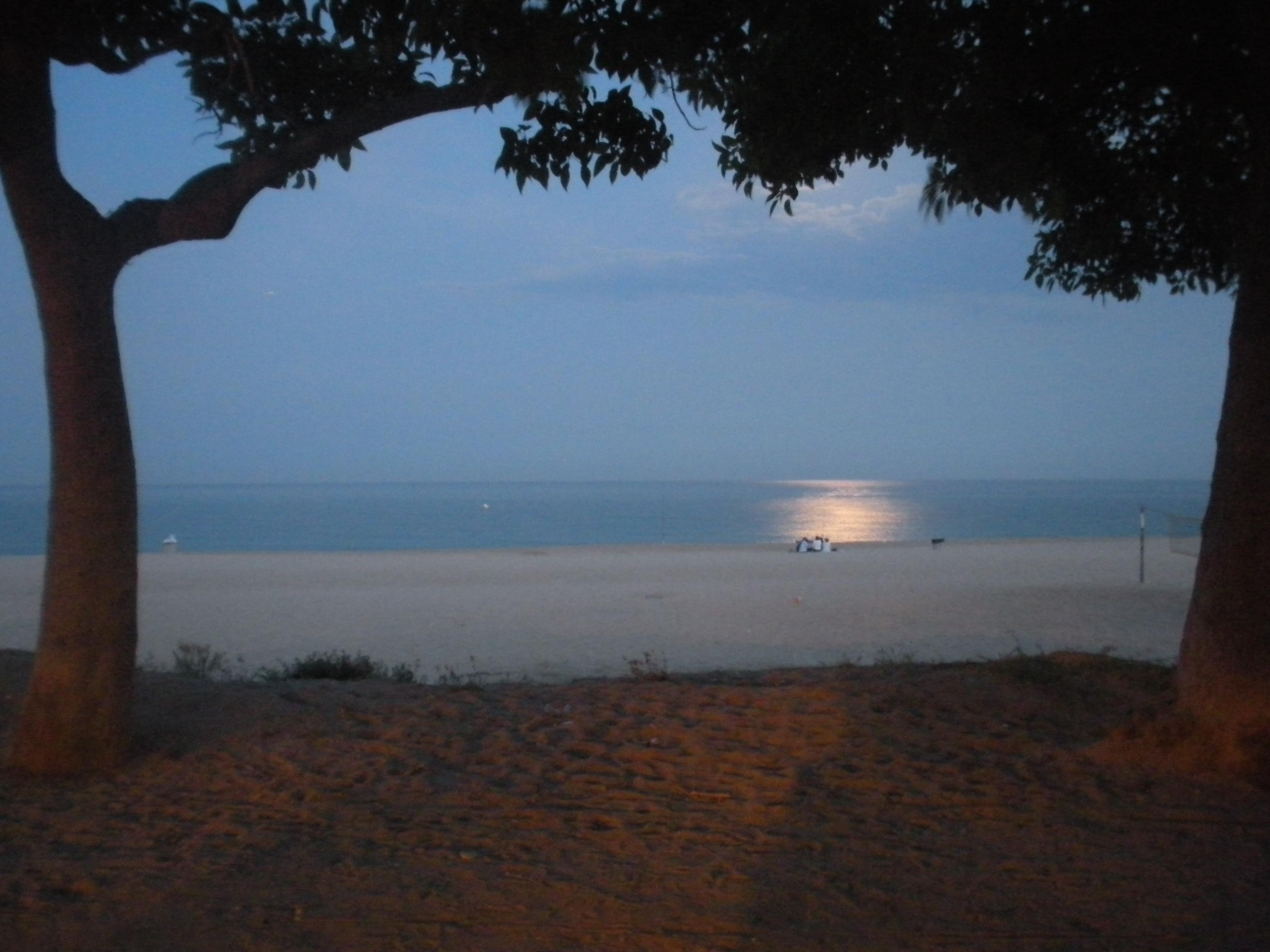 Foto playa El Callao. Mataró