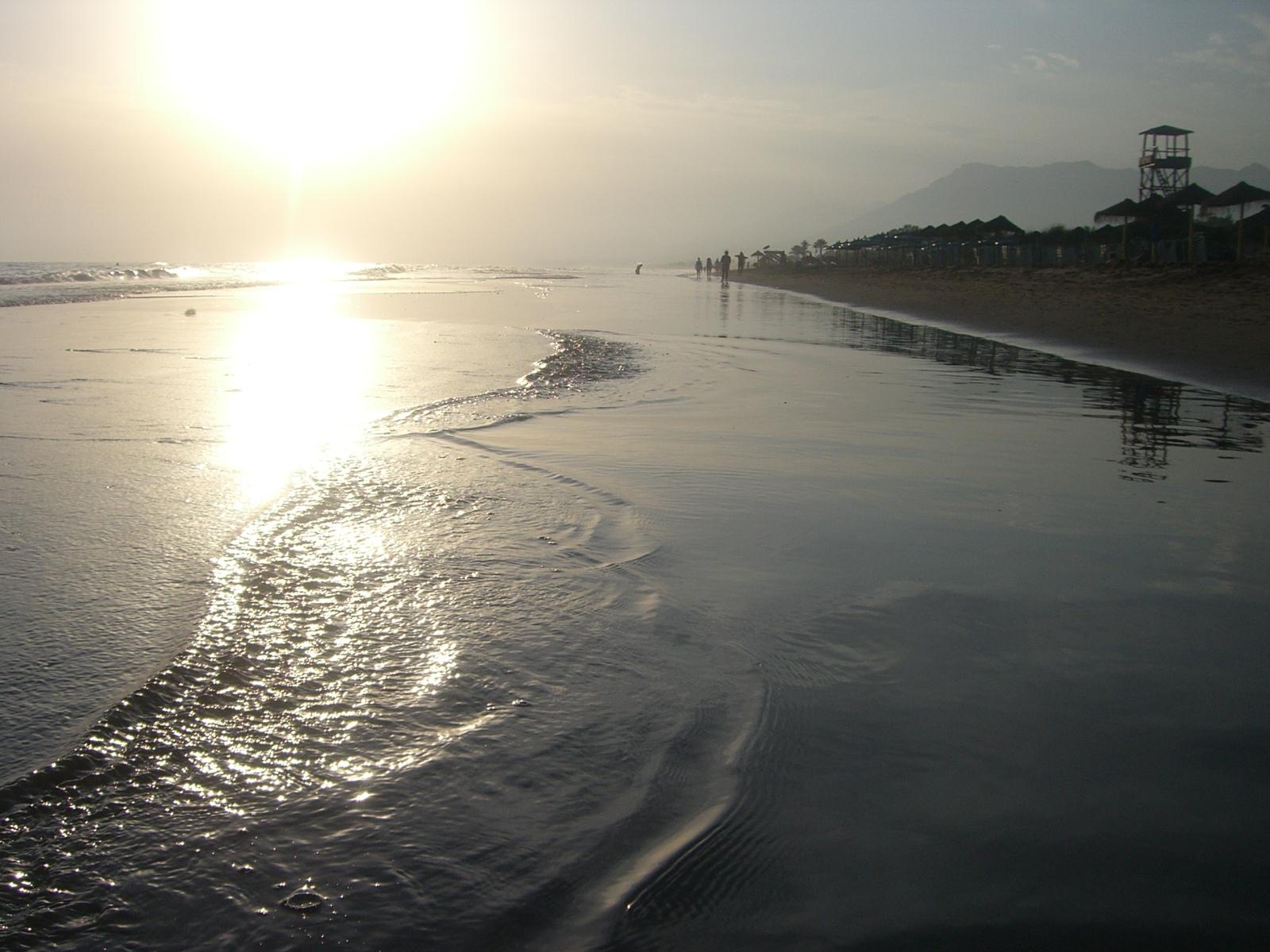 Foto playa Los Monteros. Marbella-Elviria