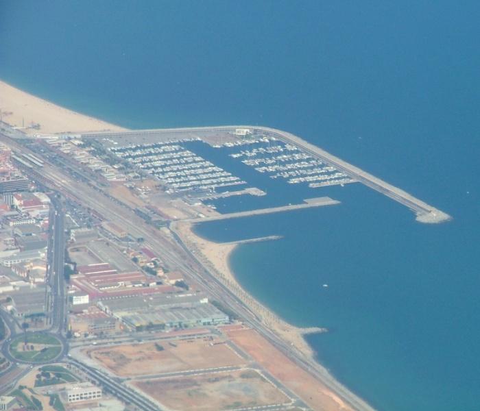 Foto playa Cabrera. Mataró - Cataluña - España