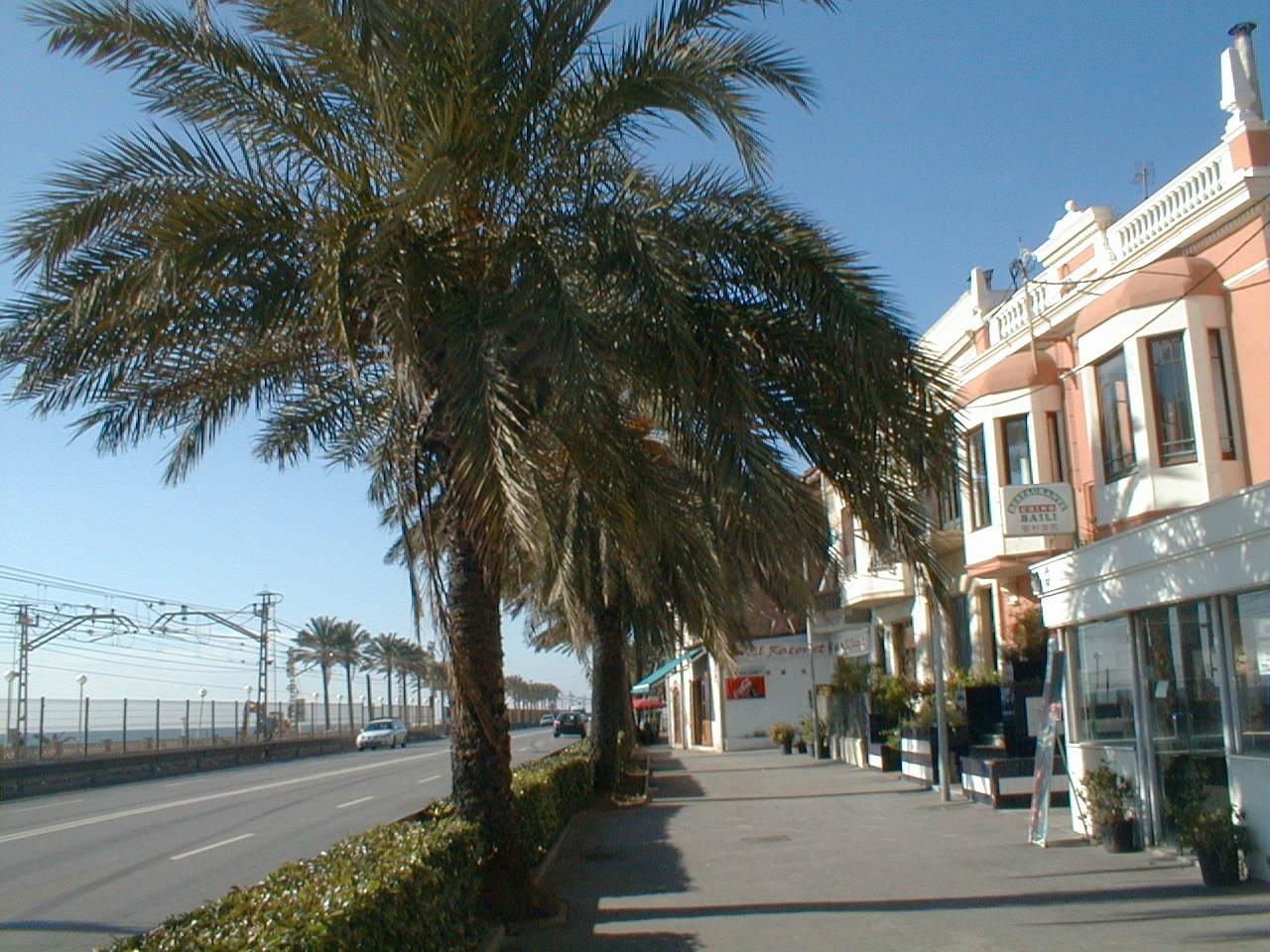 Foto playa Platja de Llevant / Levante. Vilassar del Mar, Catalunya, España