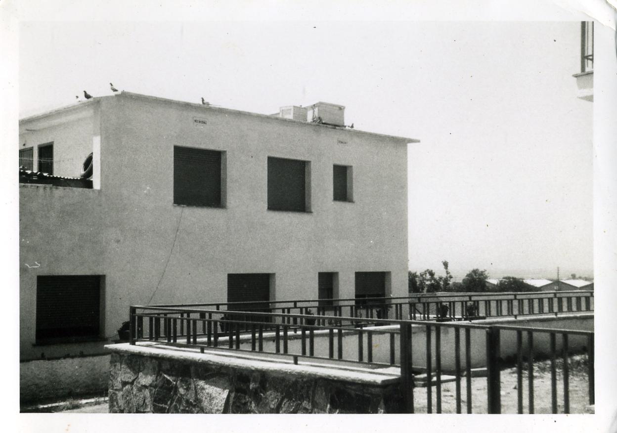 Foto playa La Descàrrega. Casa de Adela 1973