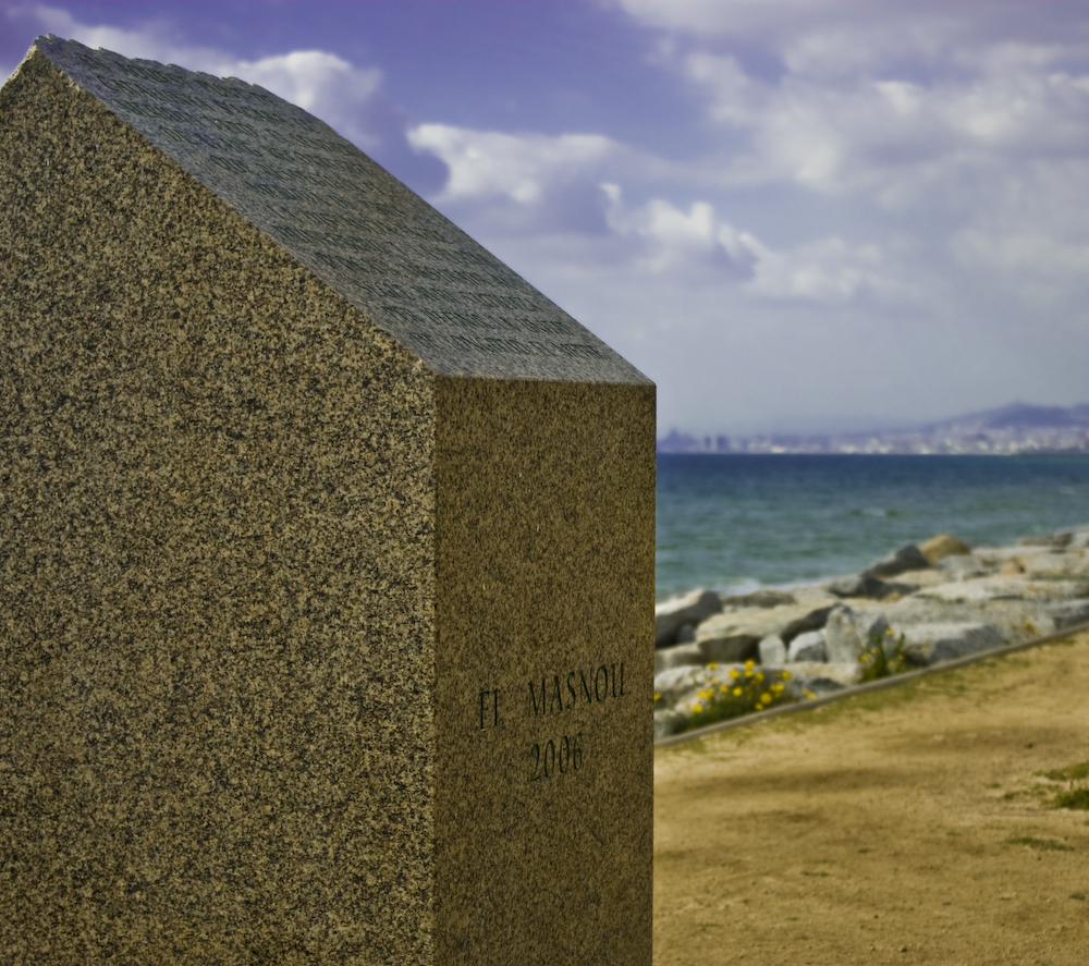 Foto playa Platja de Ponent / Poniente . EL fin del camino