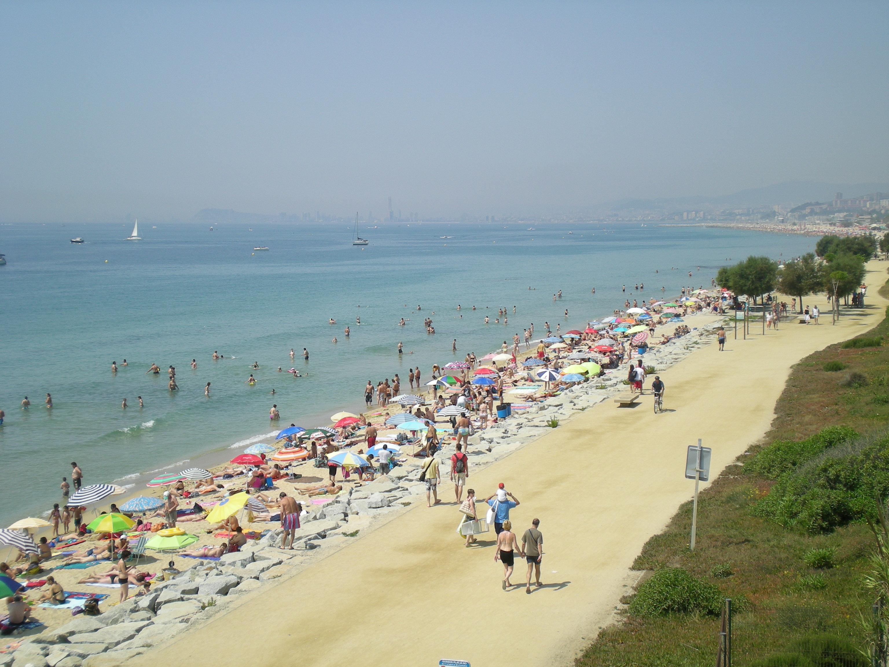 Foto playa Platja de Ponent / Poniente . el masnou