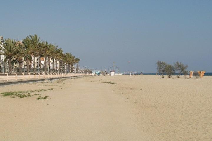 Foto playa Ocata. Playa de El Masnou