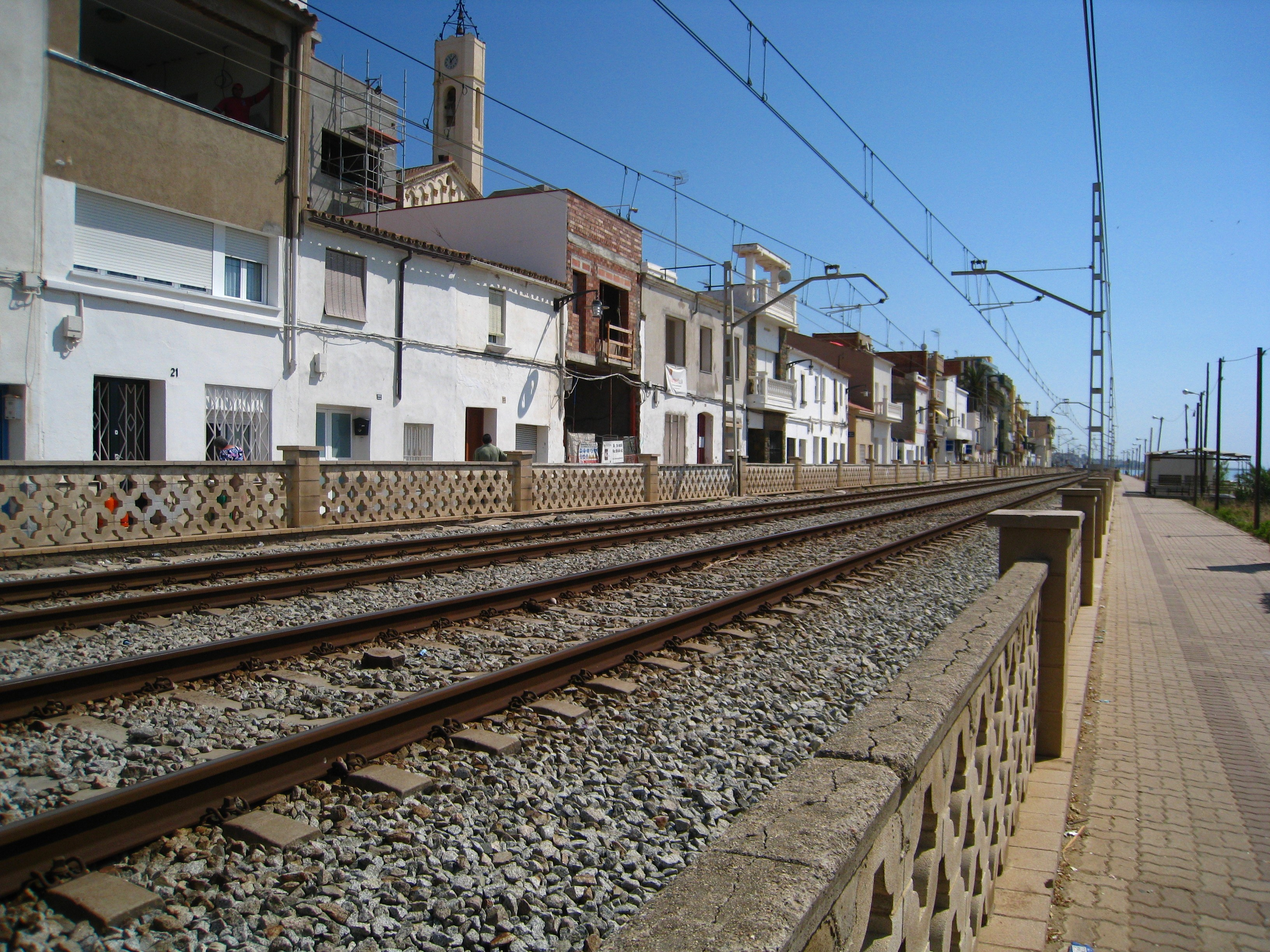 Foto playa Sant Joan. Montgat
