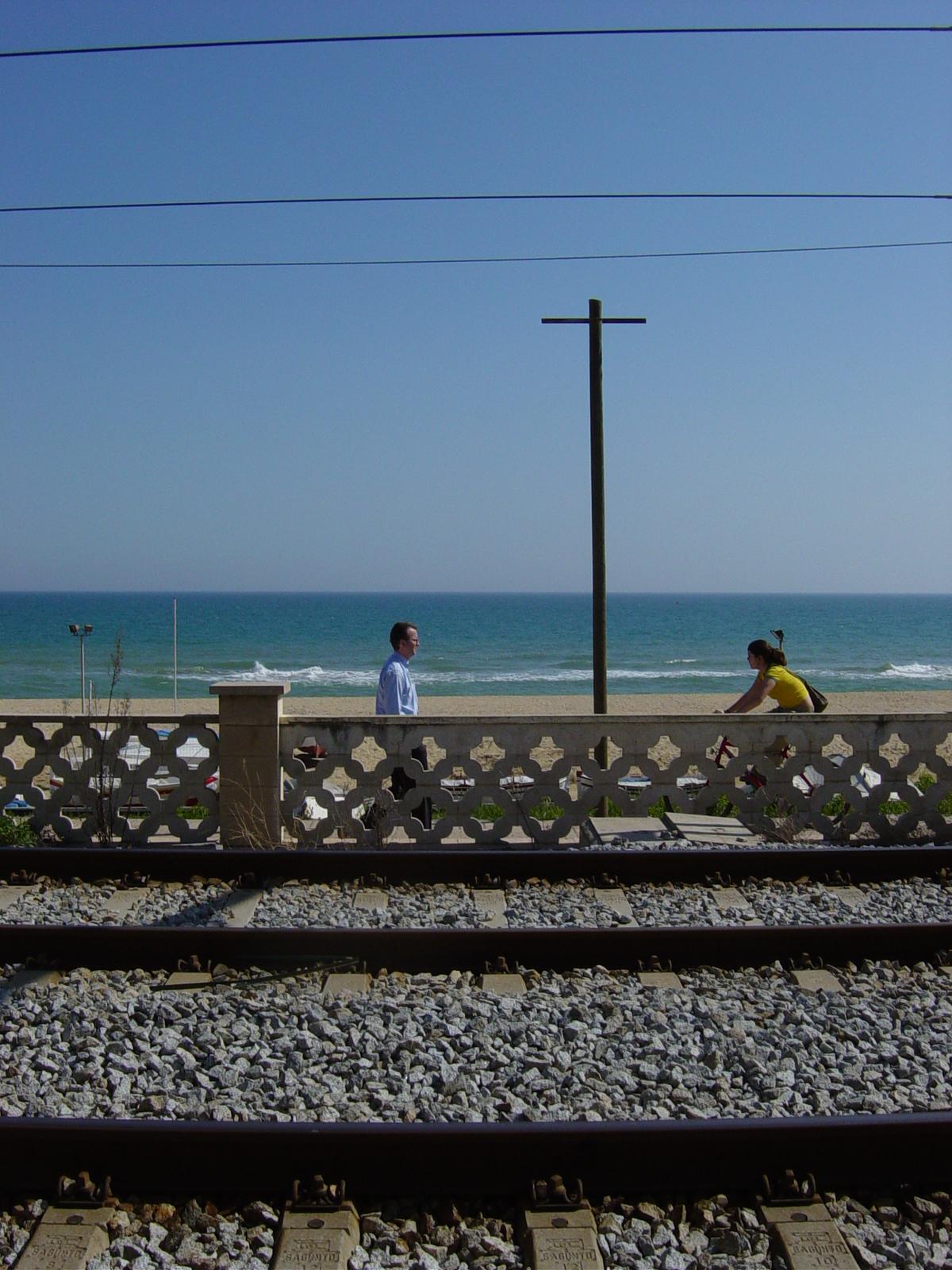 Foto playa Les Moreres / La Morera. Montgat