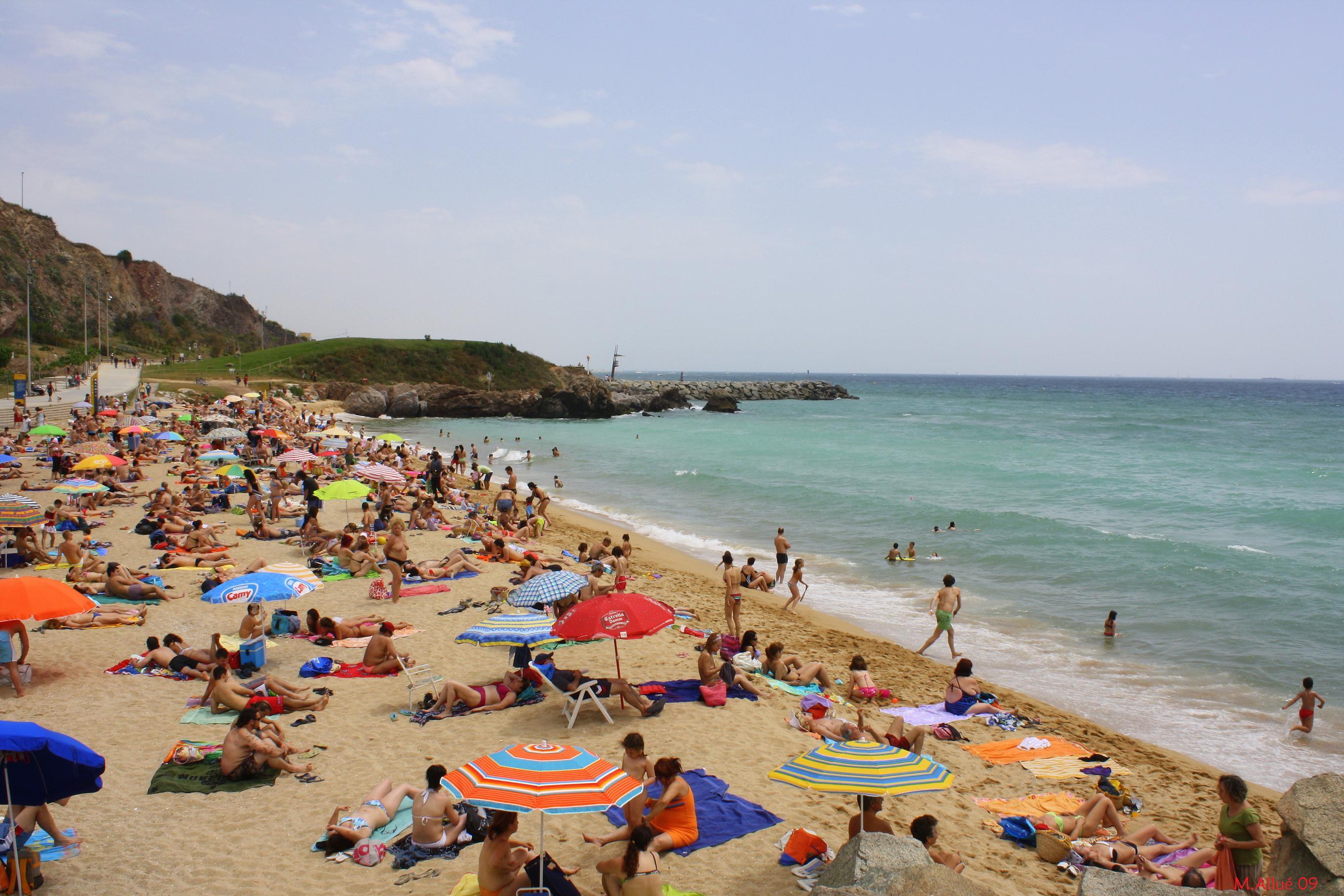 Foto playa Les Moreres / La Morera. Un día en la Playa