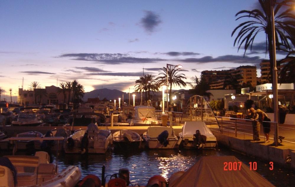 Foto playa El Cable. Marbella puerto