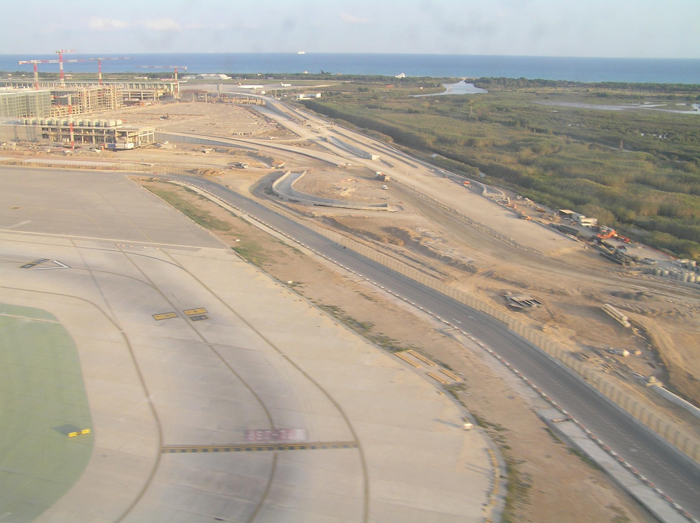 Foto playa Platja del Remolar. Aéroport de Barcelone